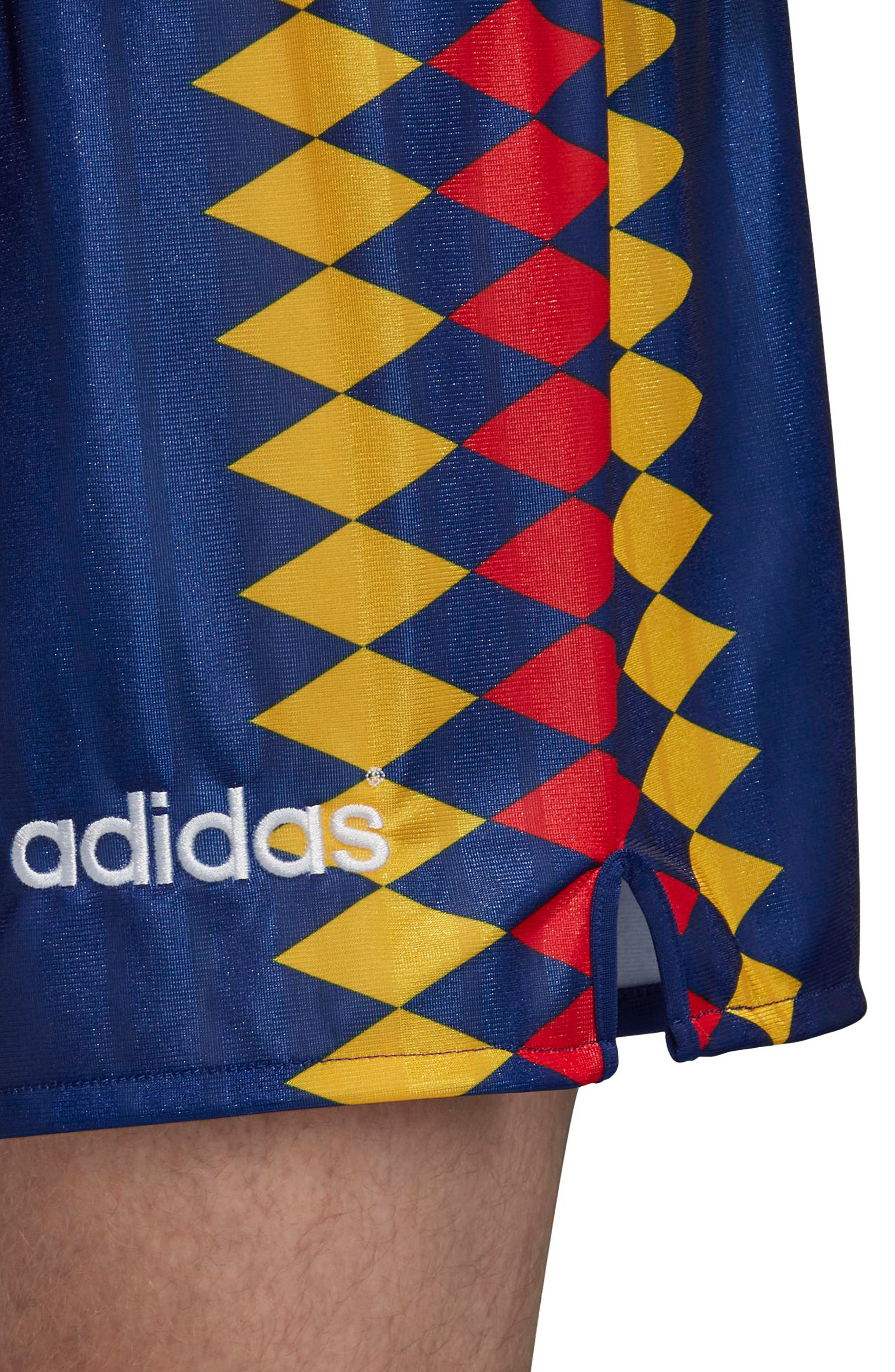 ADIDAS ORIGINALS,                             adidas Original Spain 1994 Shorts,                             Alternate thumbnail 6, color,                             414