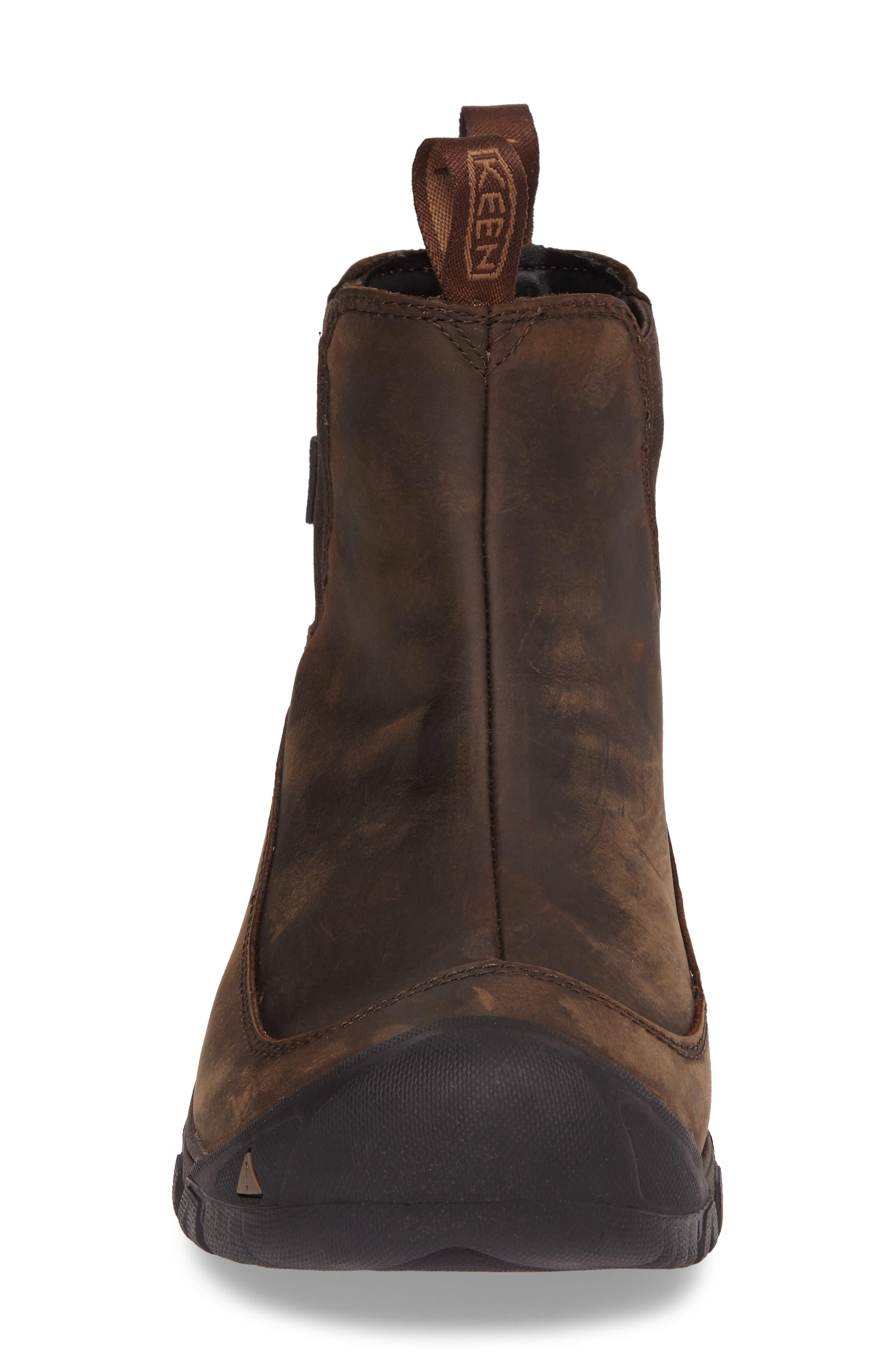 Anchorage II Waterproof Chelsea Boot,                             Alternate thumbnail 4, color,                             DARK EARTH/ MULCH