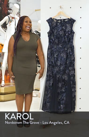 Soutache & Sequin Gown, sales video thumbnail