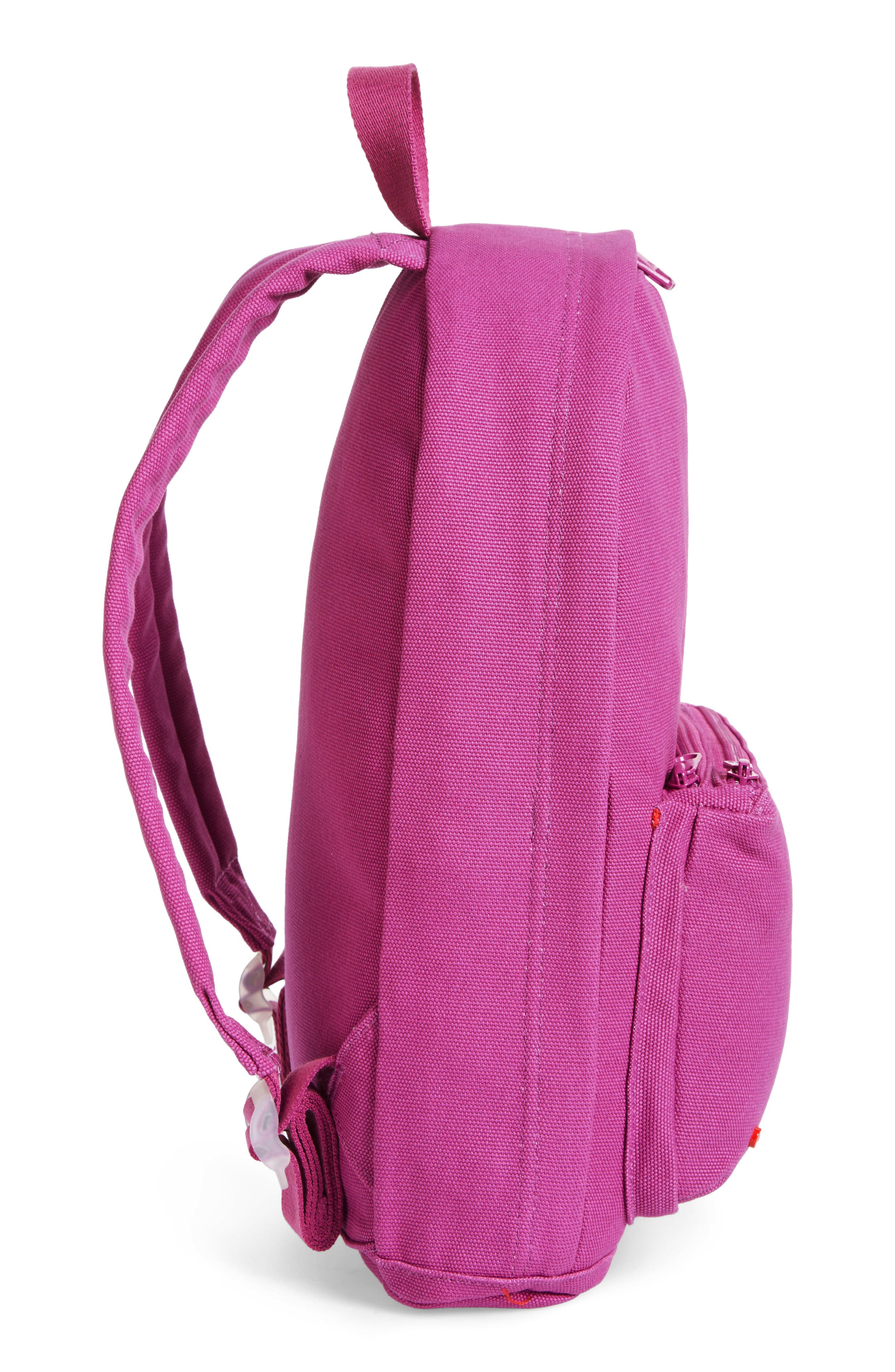 Slim Lorimer Water Resistant Canvas Backpack,                             Alternate thumbnail 5, color,                             501