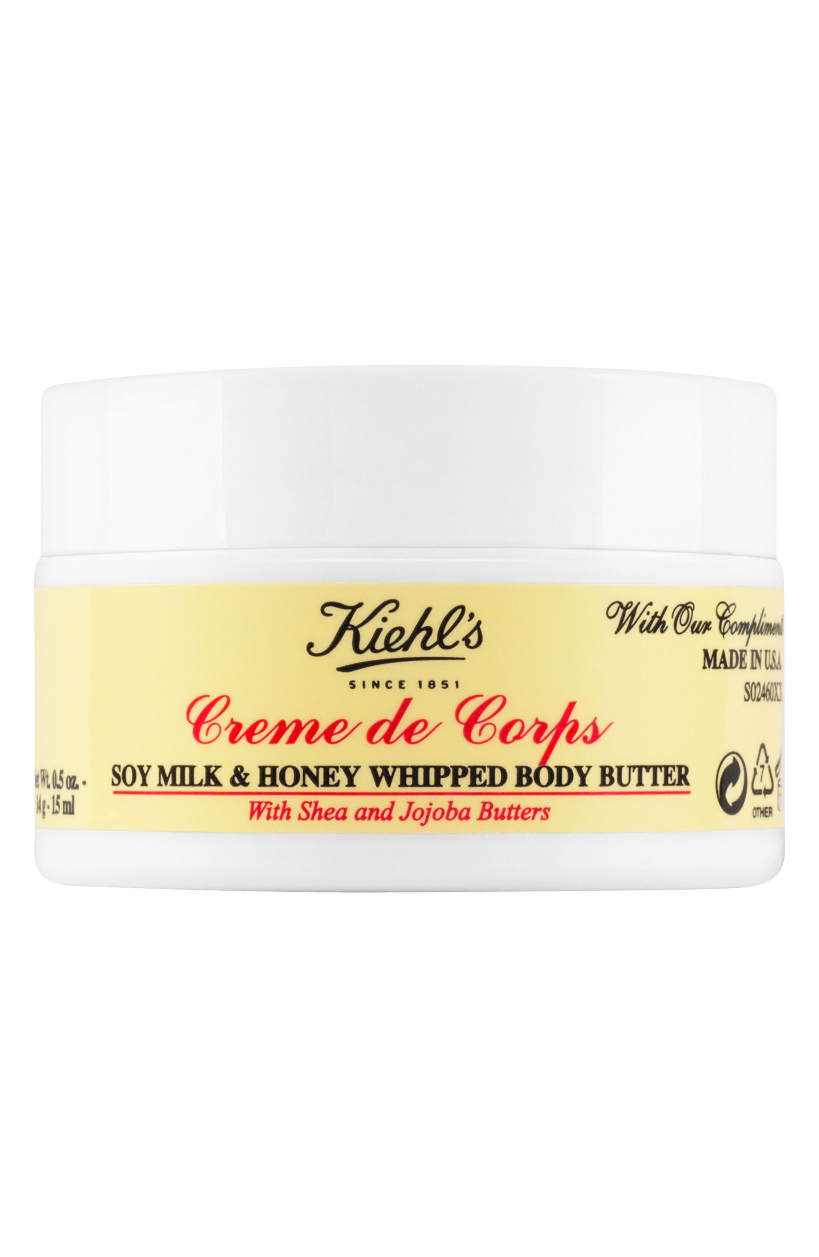 'Creme de Corps' Soy Milk & Honey Whipped Body Butter,                         Main,                         color, NO COLOR