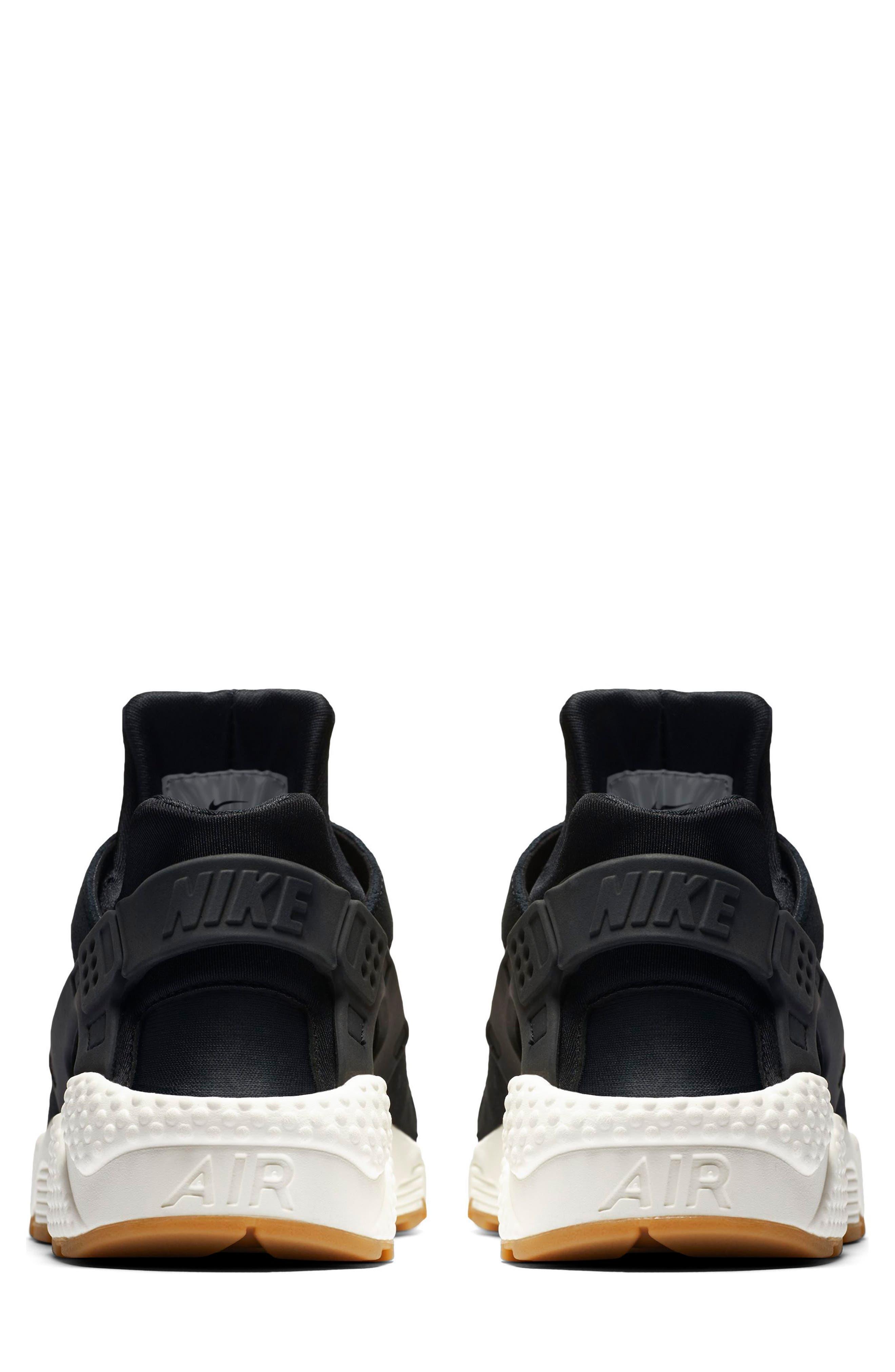Air Huarache Run SD Sneaker,                             Alternate thumbnail 2, color,                             001