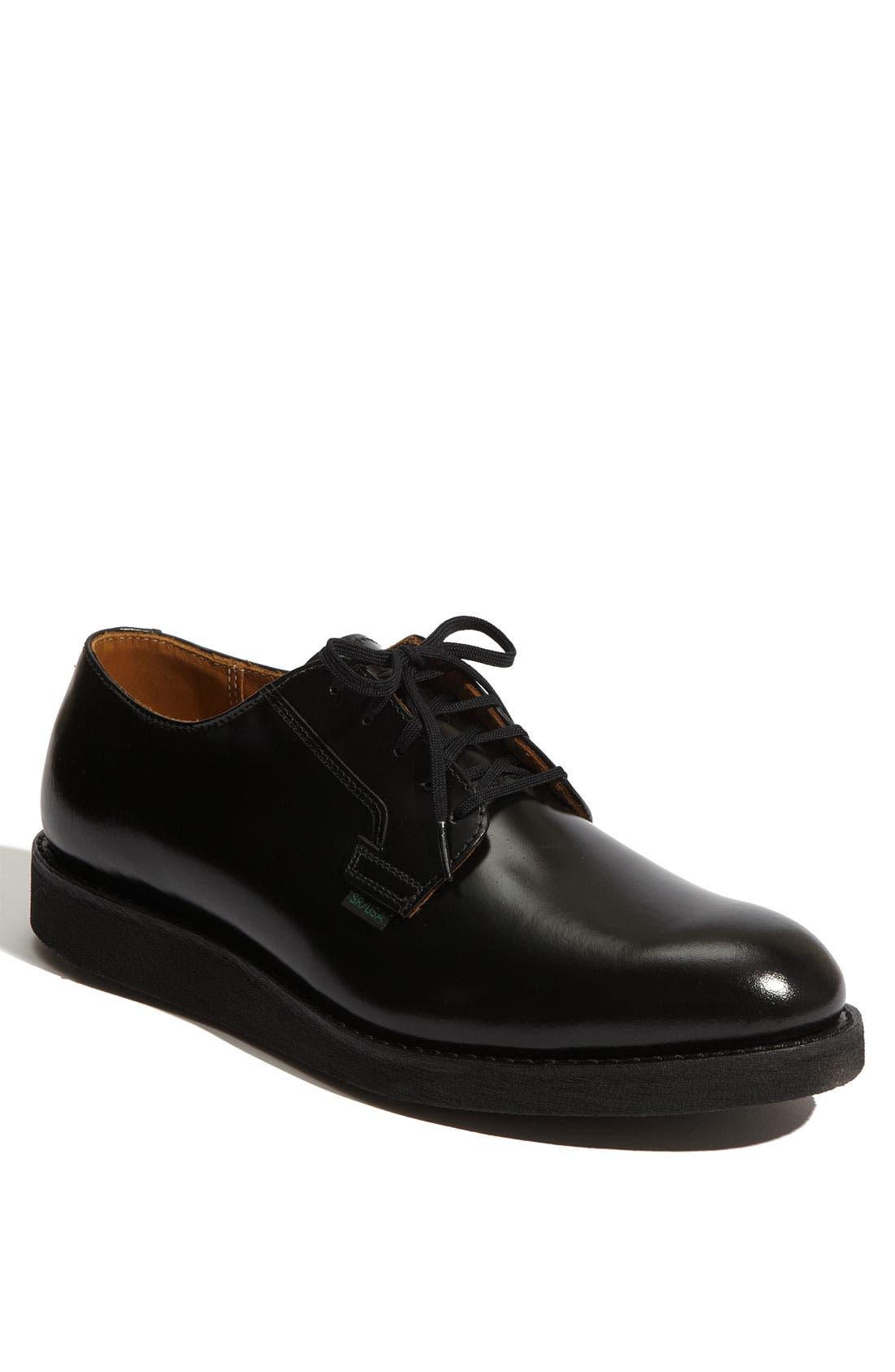 'Postman' Oxford,                         Main,                         color, BLACK- 101