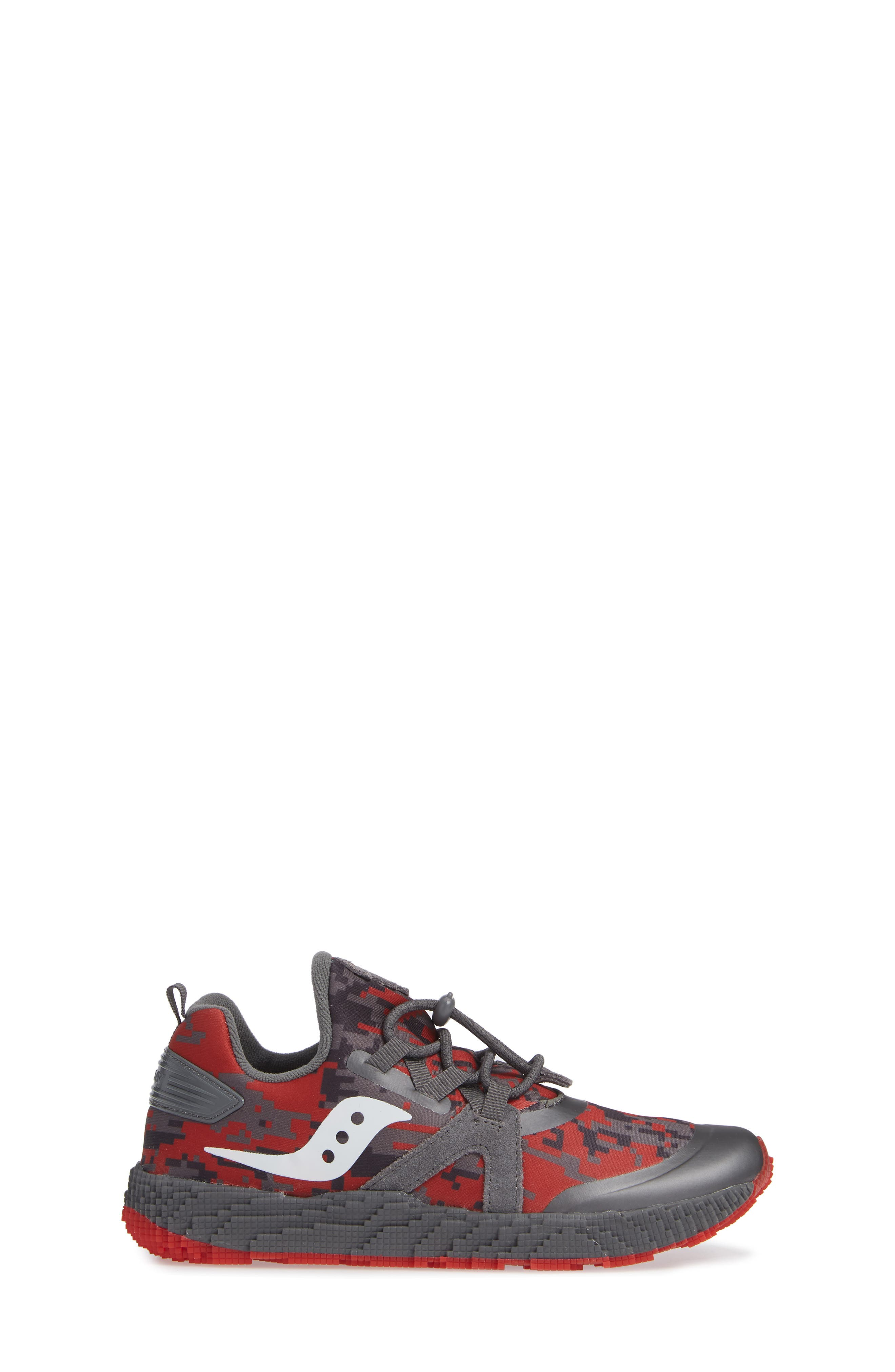 Voxel 9000 Sneaker,                             Alternate thumbnail 3, color,                             GREY LEATHER/ MESH 2
