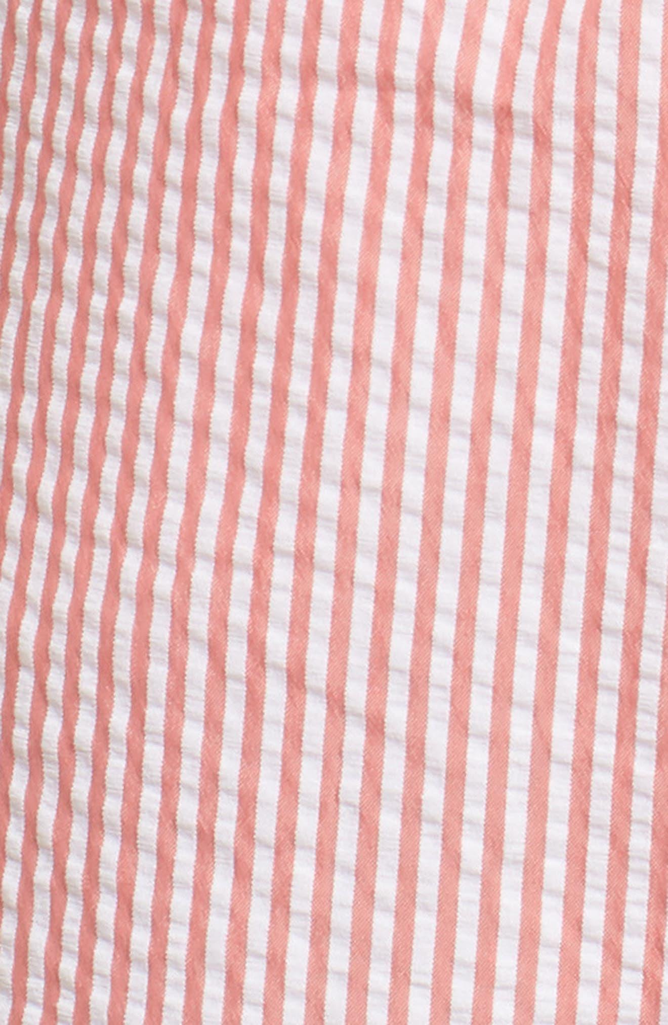 Seersucker Swim Trunks,                             Alternate thumbnail 15, color,