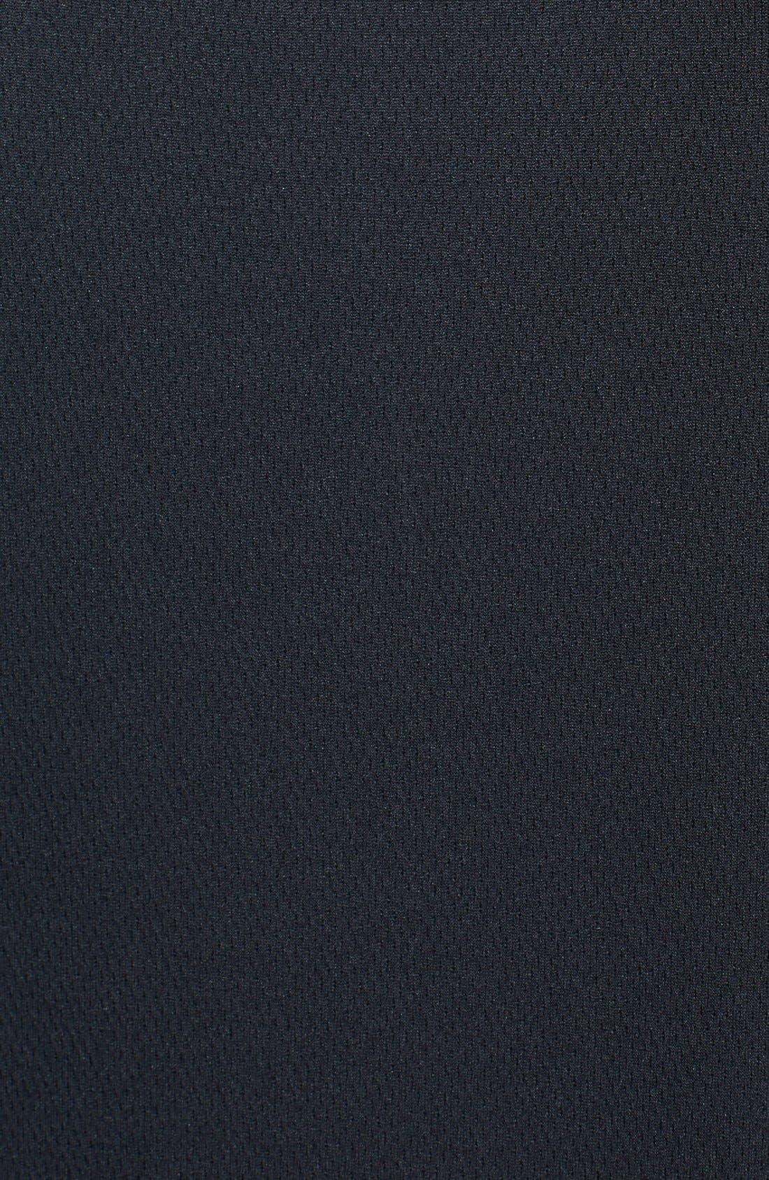 Cincinnati Bengals - Edge DryTec Moisture Wicking Half Zip Pullover,                             Alternate thumbnail 3, color,                             001