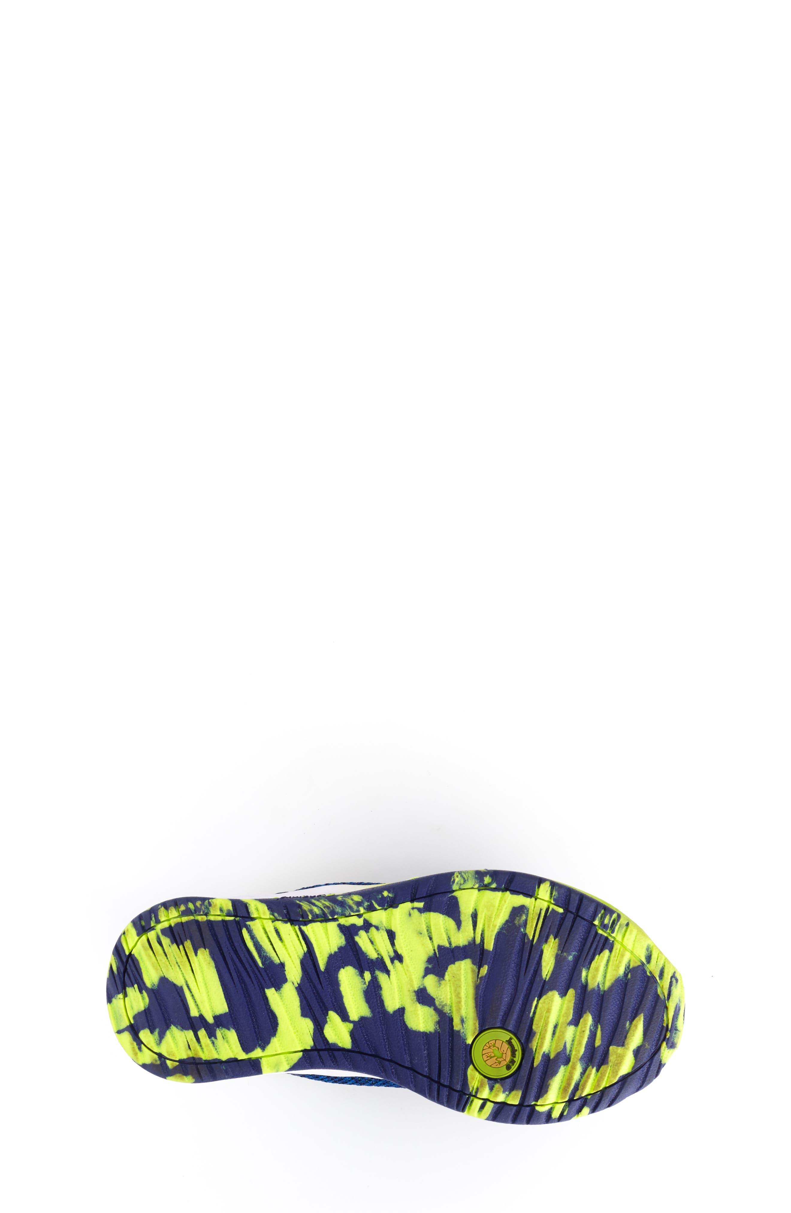 Talon Knit Sneaker,                             Alternate thumbnail 5, color,                             NAVY TEXTILE