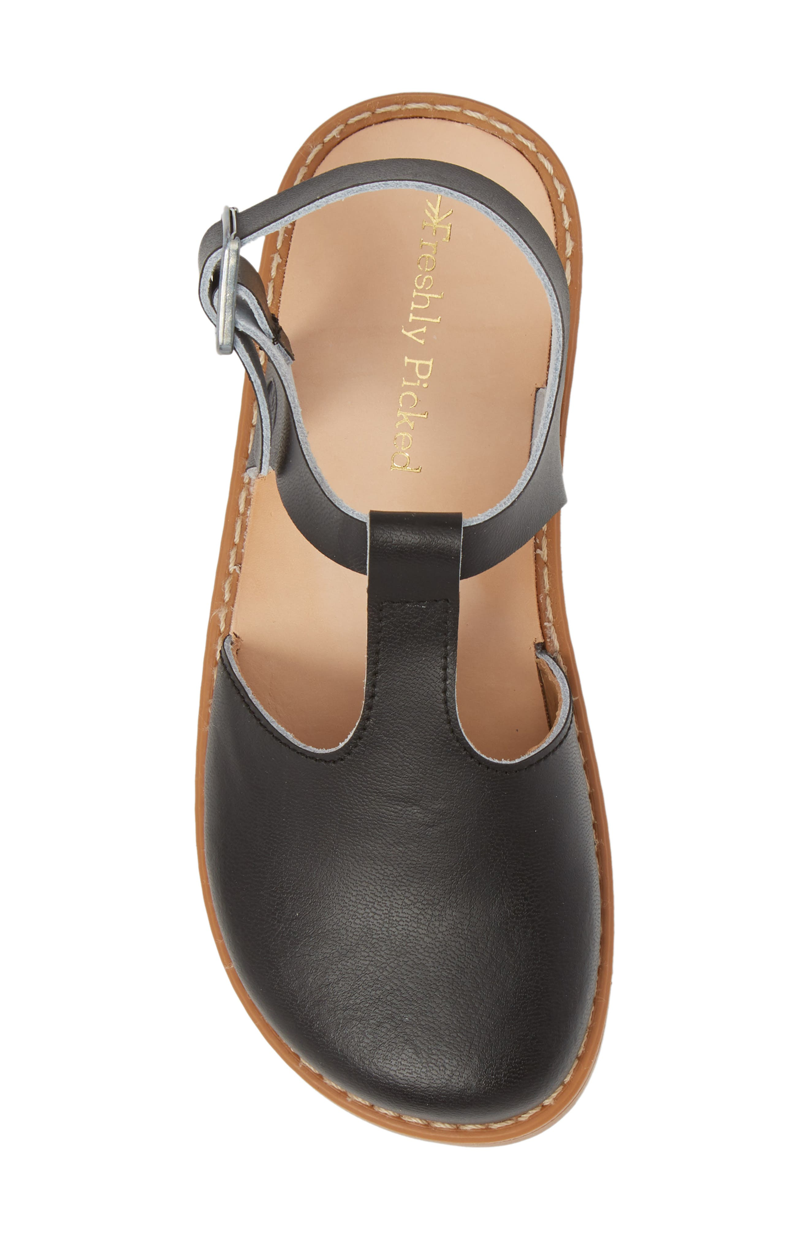 Newport Clog Sandal,                             Alternate thumbnail 5, color,                             BLACK