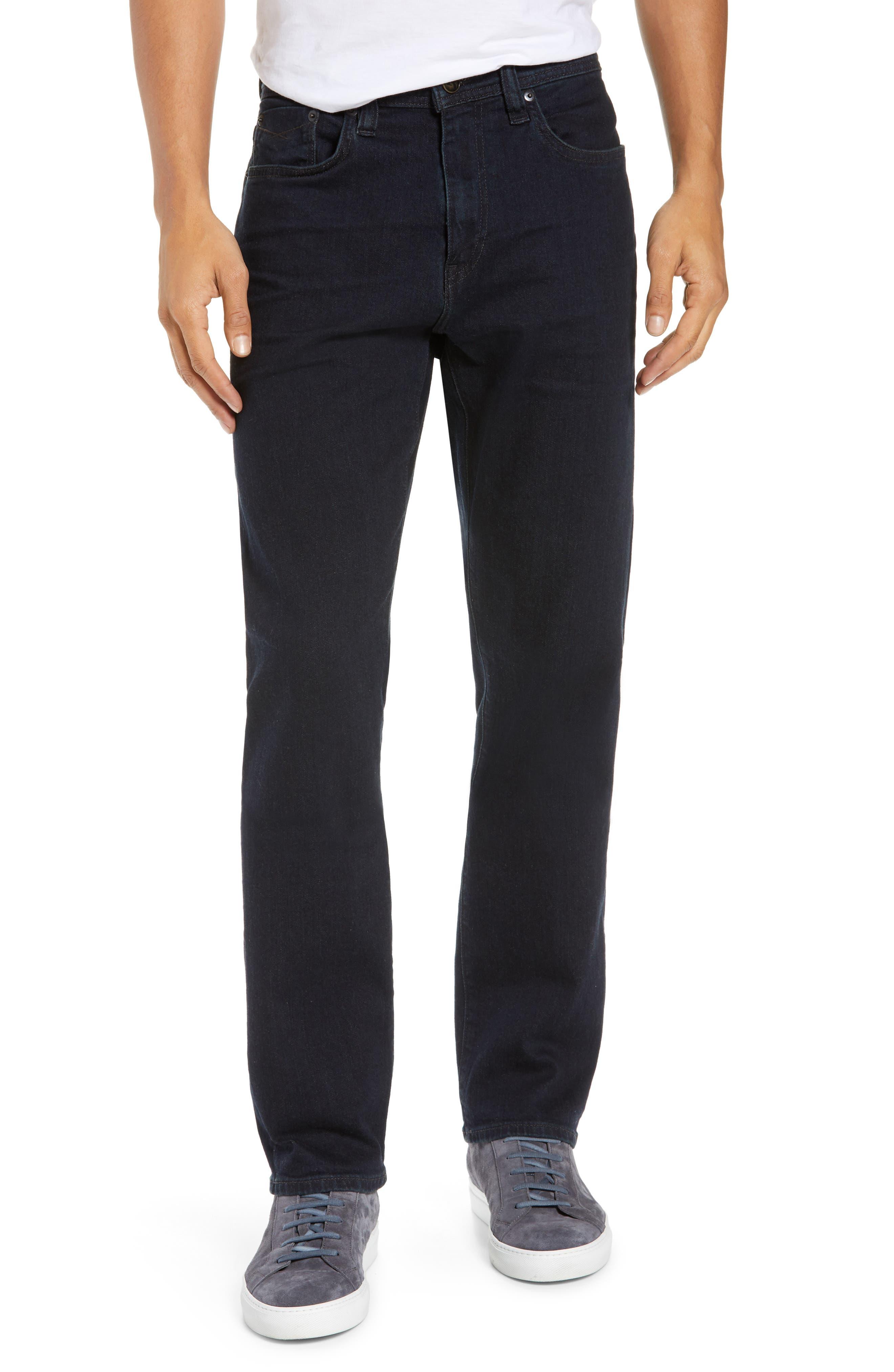 REVTOWN Automatic Straight Leg Jeans, Main, color, RINSE INDIGO