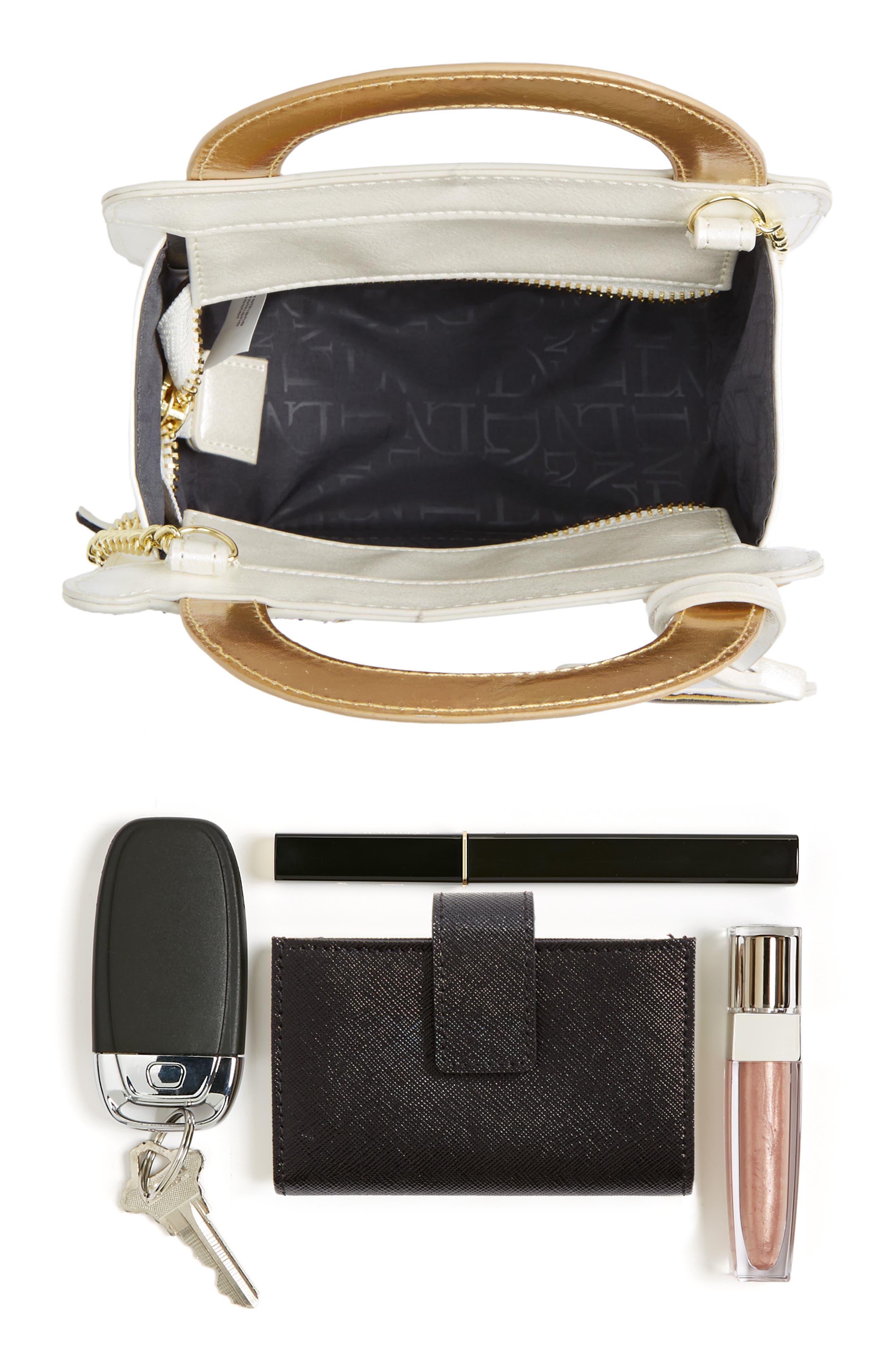 DANIELLE NICOLE,                             x Disney<sup>®</sup> Mrs. Potts & Chip Faux Leather Crossbody Bag,                             Alternate thumbnail 7, color,                             040