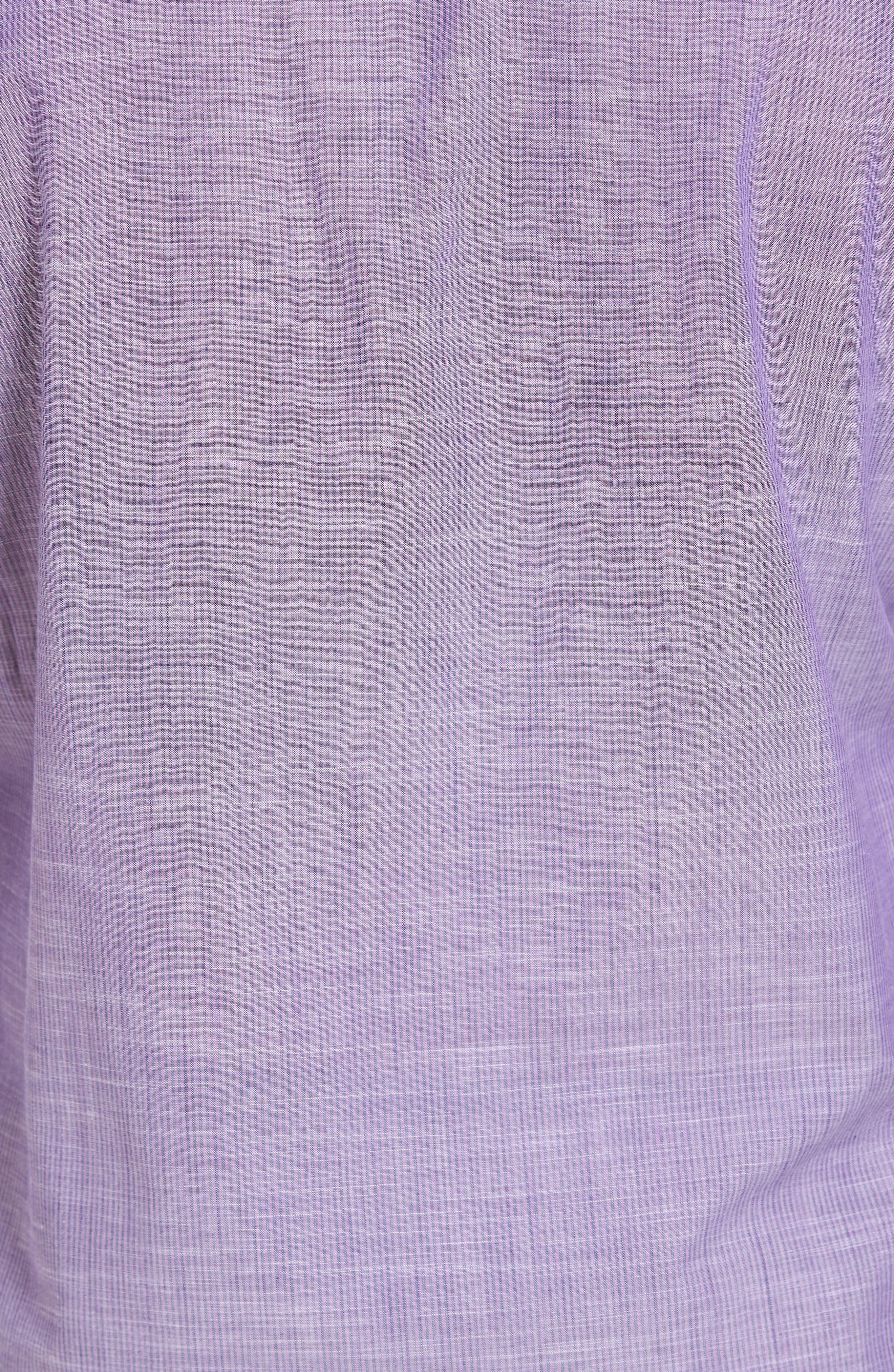 Snower Slim Fit Sport Shirt,                             Alternate thumbnail 5, color,                             500