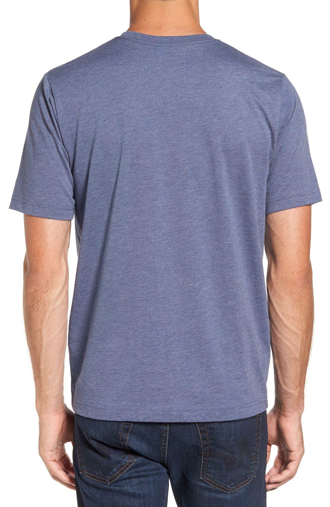 'Mapes' Graphic Pima Cotton T-Shirt,                             Alternate thumbnail 8, color,