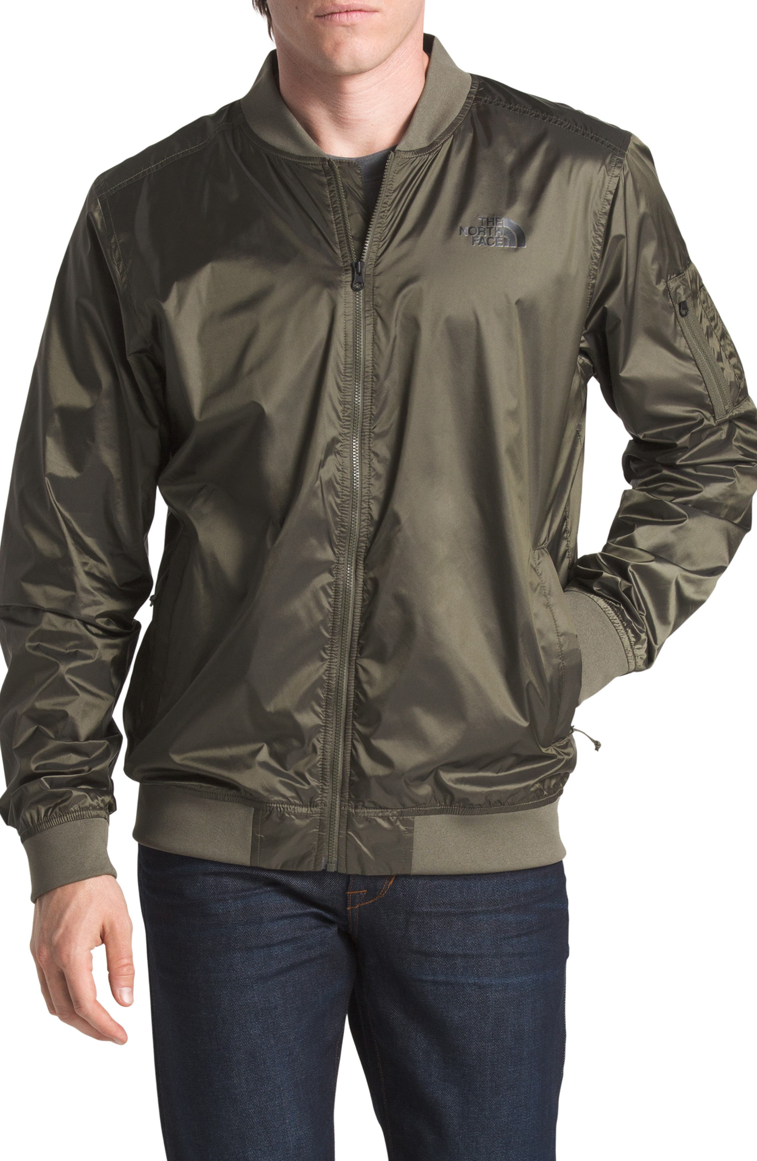 The North Face Meaford Ii Bomber Jacket, Green