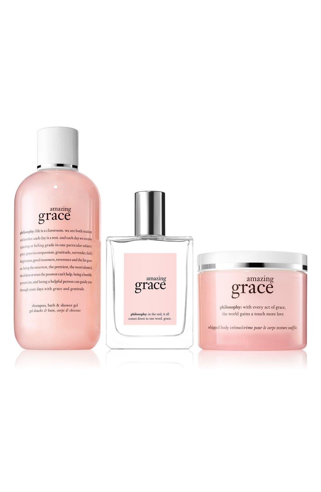 'amazing grace' collection,                             Main thumbnail 1, color,                             000
