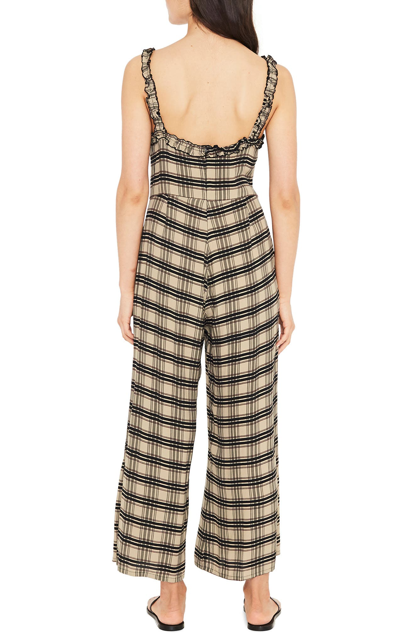 Cancun Plaid Jumpsuit,                             Alternate thumbnail 2, color,                             HILLARY PRINT