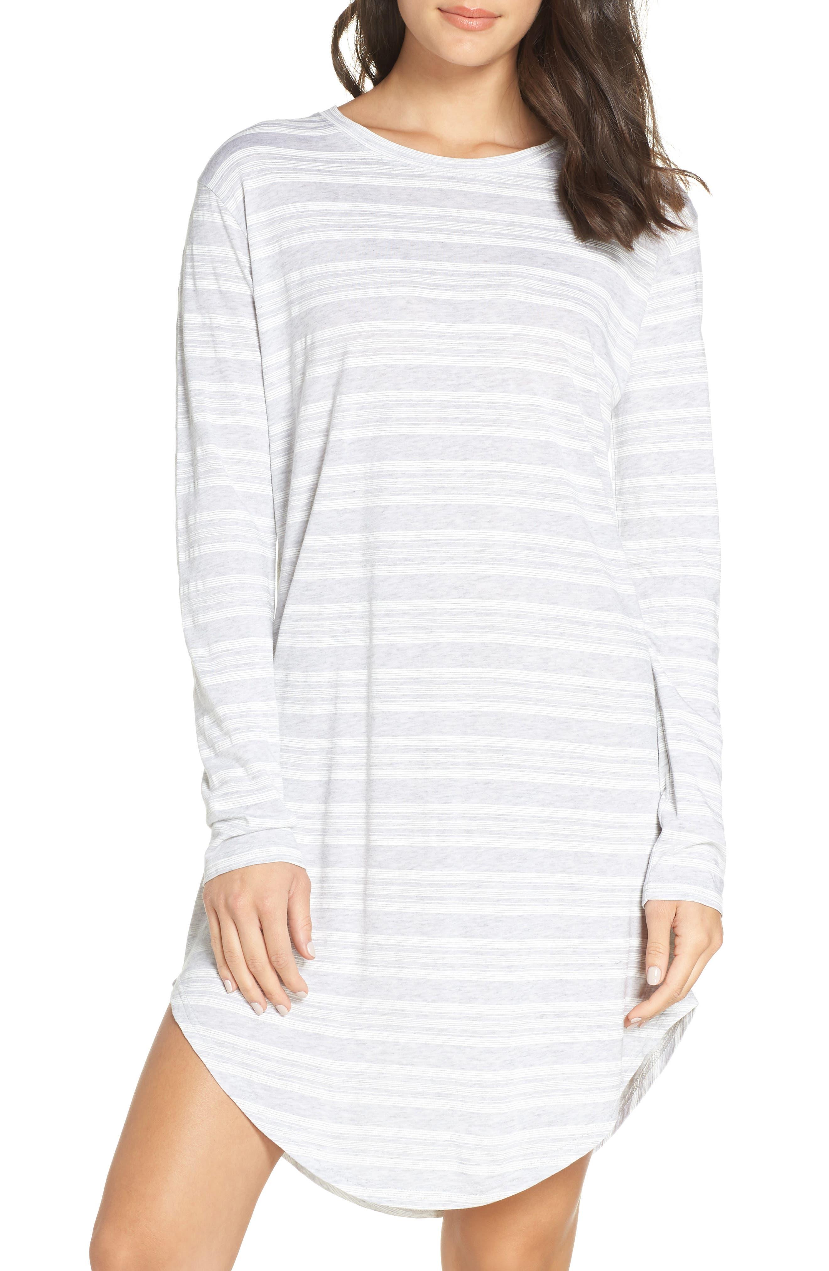 Chalmers Wednesday Sleep Shirt, Grey