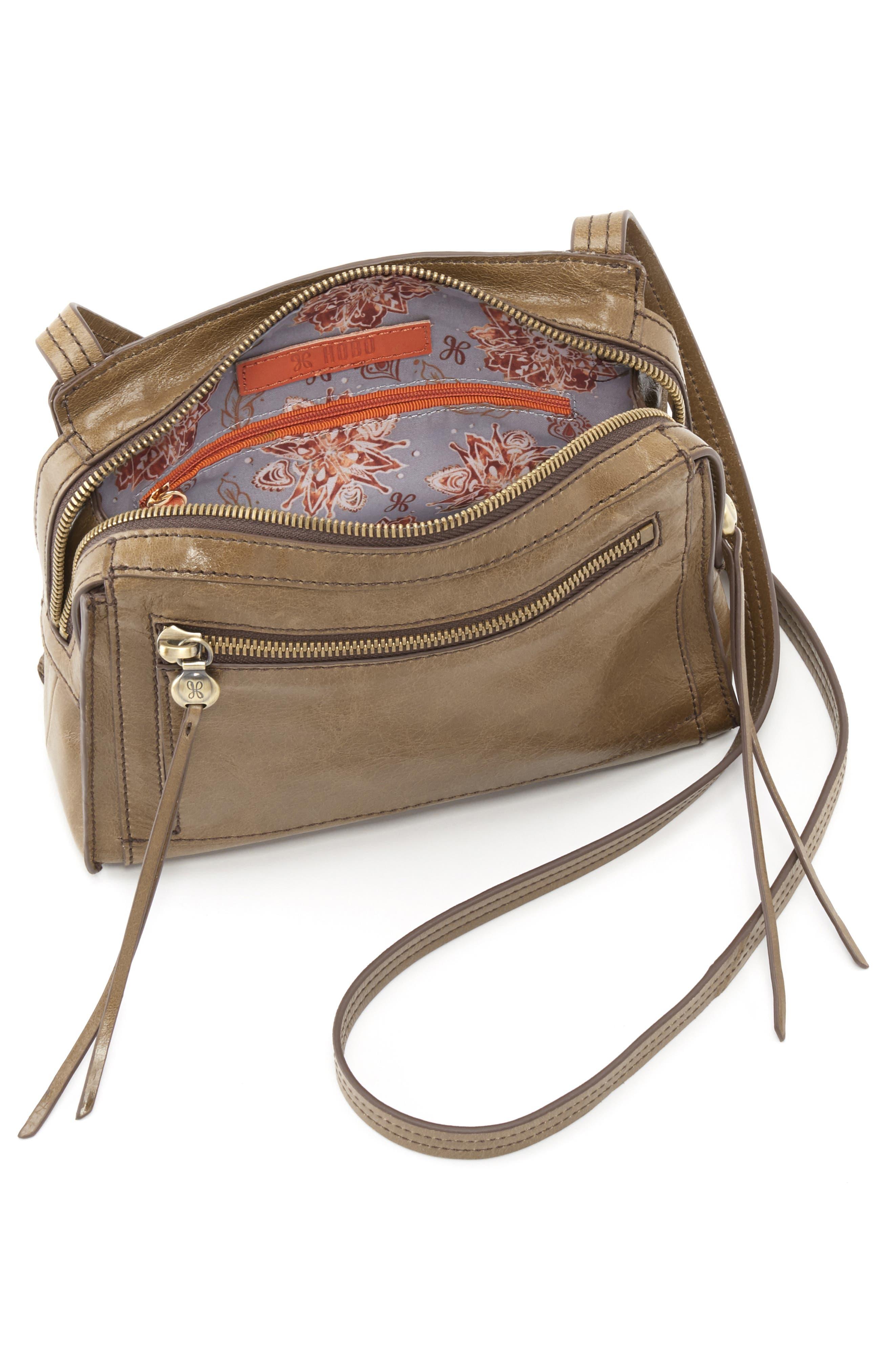Hunter Crossbody Bag,                             Alternate thumbnail 3, color,                             MINK