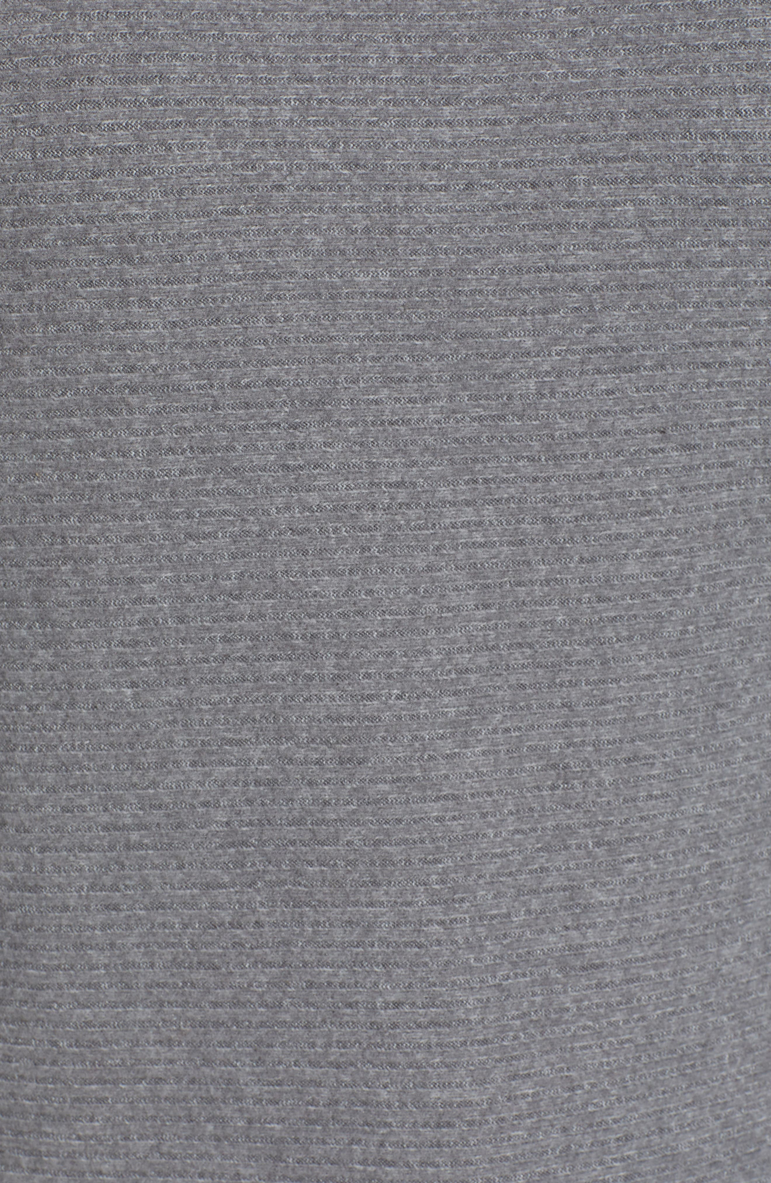 Dolman Sleeve Ribbed Top,                             Alternate thumbnail 5, color,                             GREY CLOUDY HEATHER