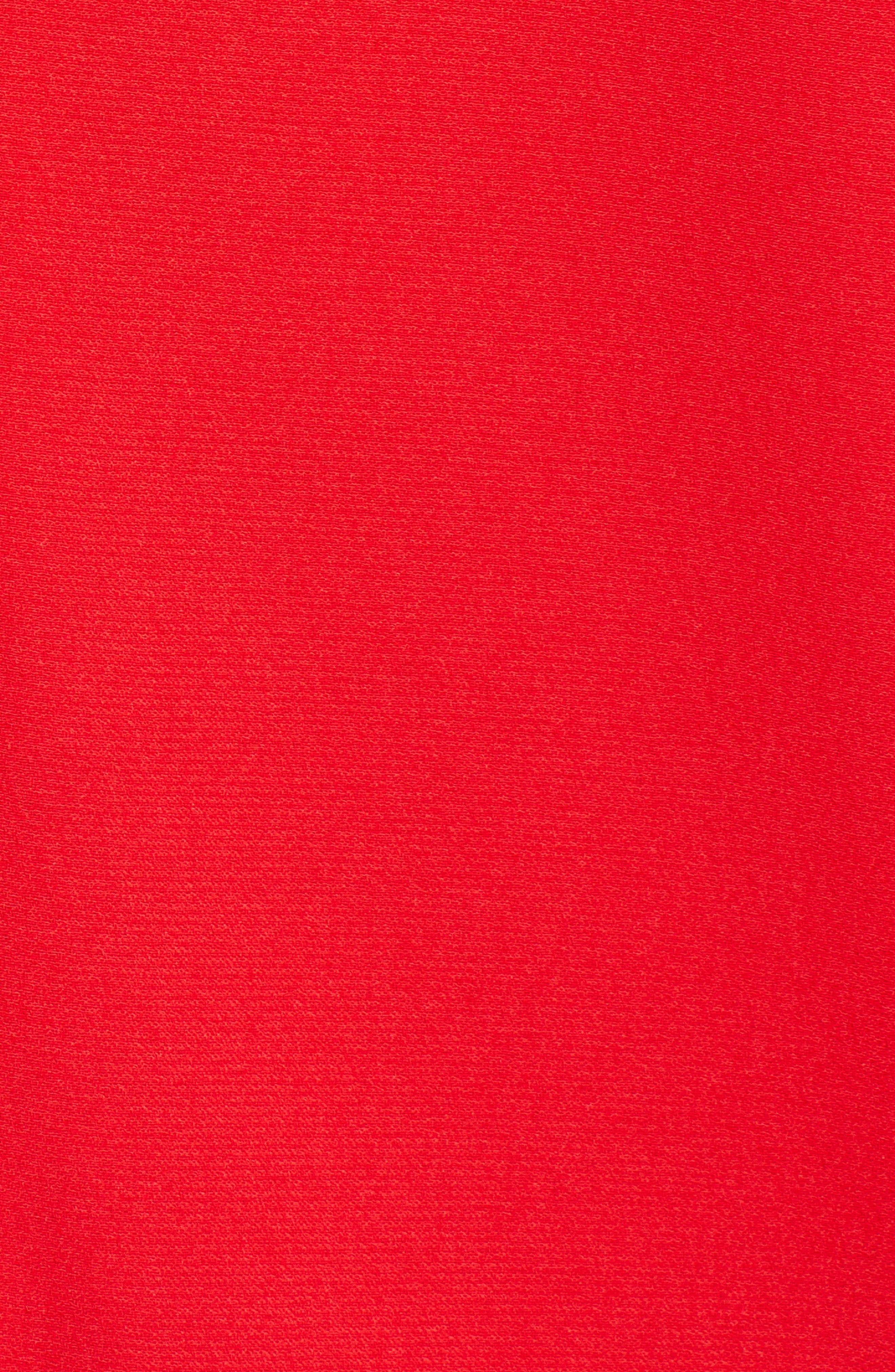 Shawl Collar Blazer,                             Alternate thumbnail 7, color,                             RED CHINOISE