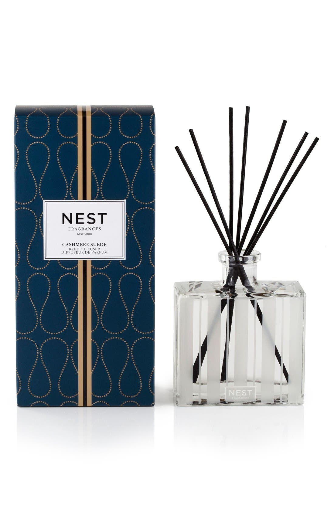 Cashmere Suede Reed Diffuser,                             Main thumbnail 1, color,                             NO COLOR