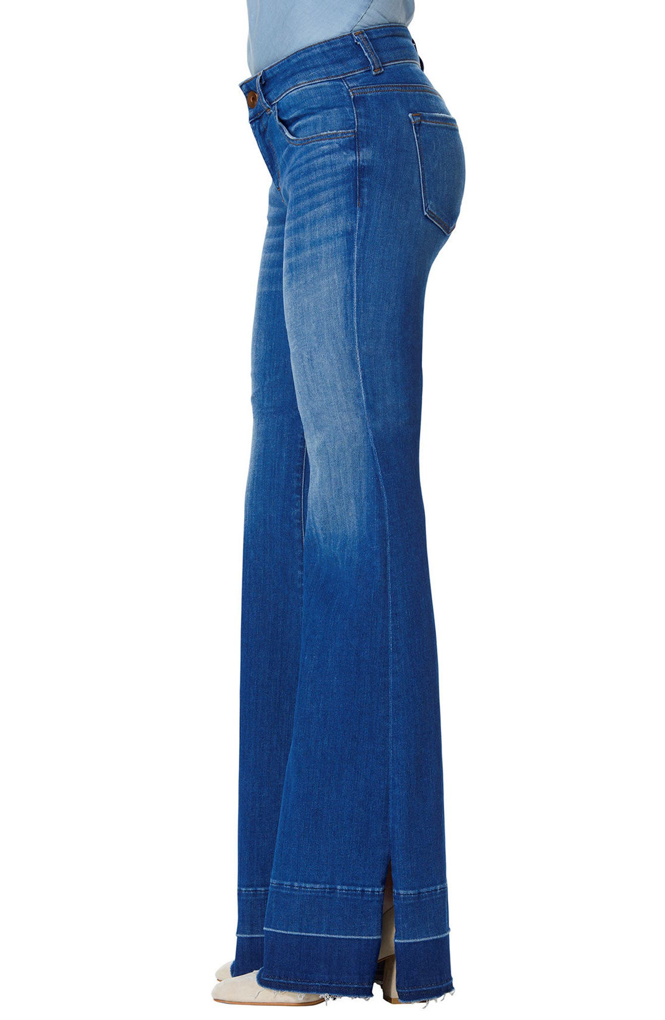 Love Story Flare Jeans,                             Alternate thumbnail 3, color,                             429