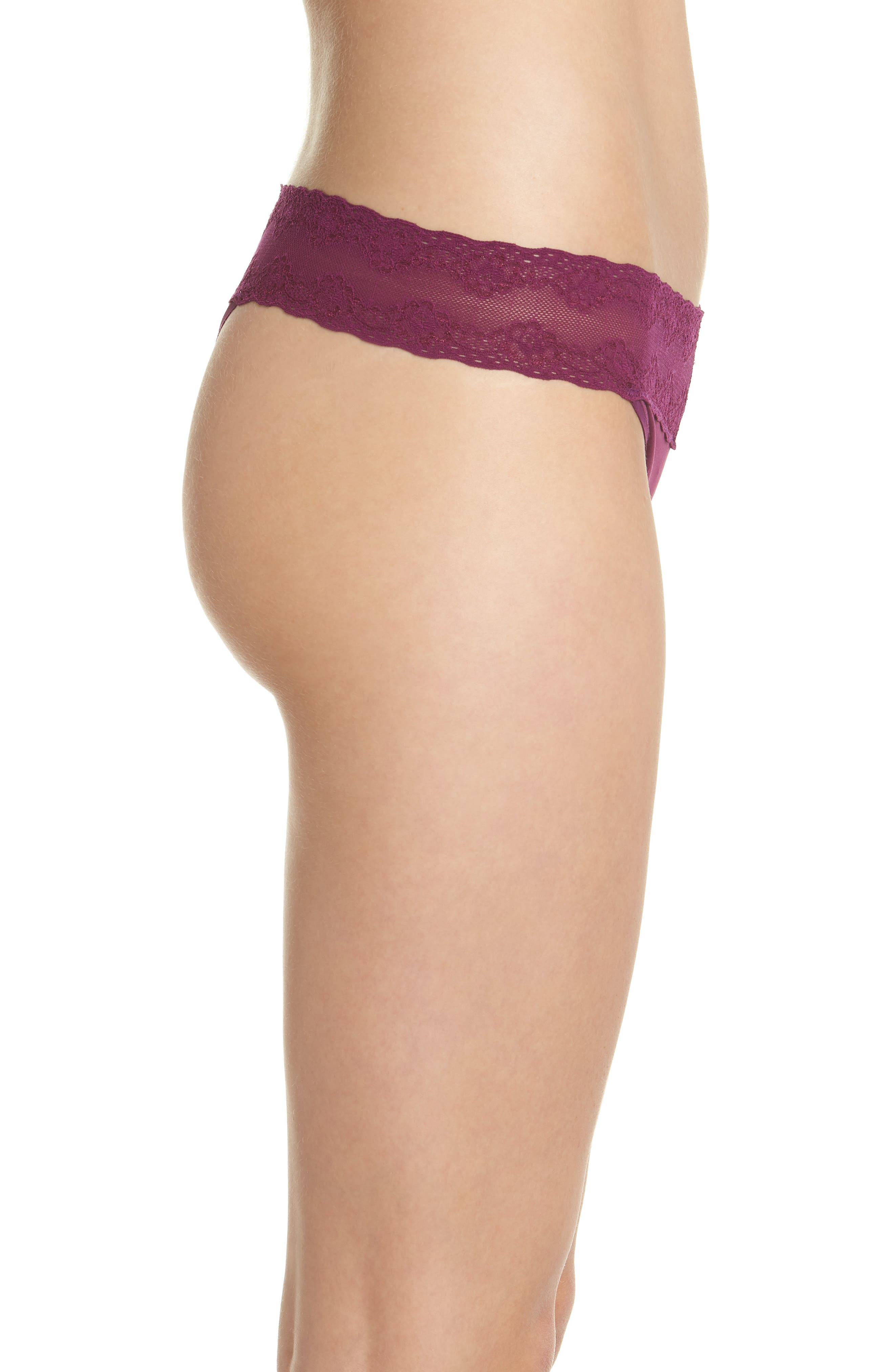 Bliss Perfection Thong,                             Alternate thumbnail 220, color,