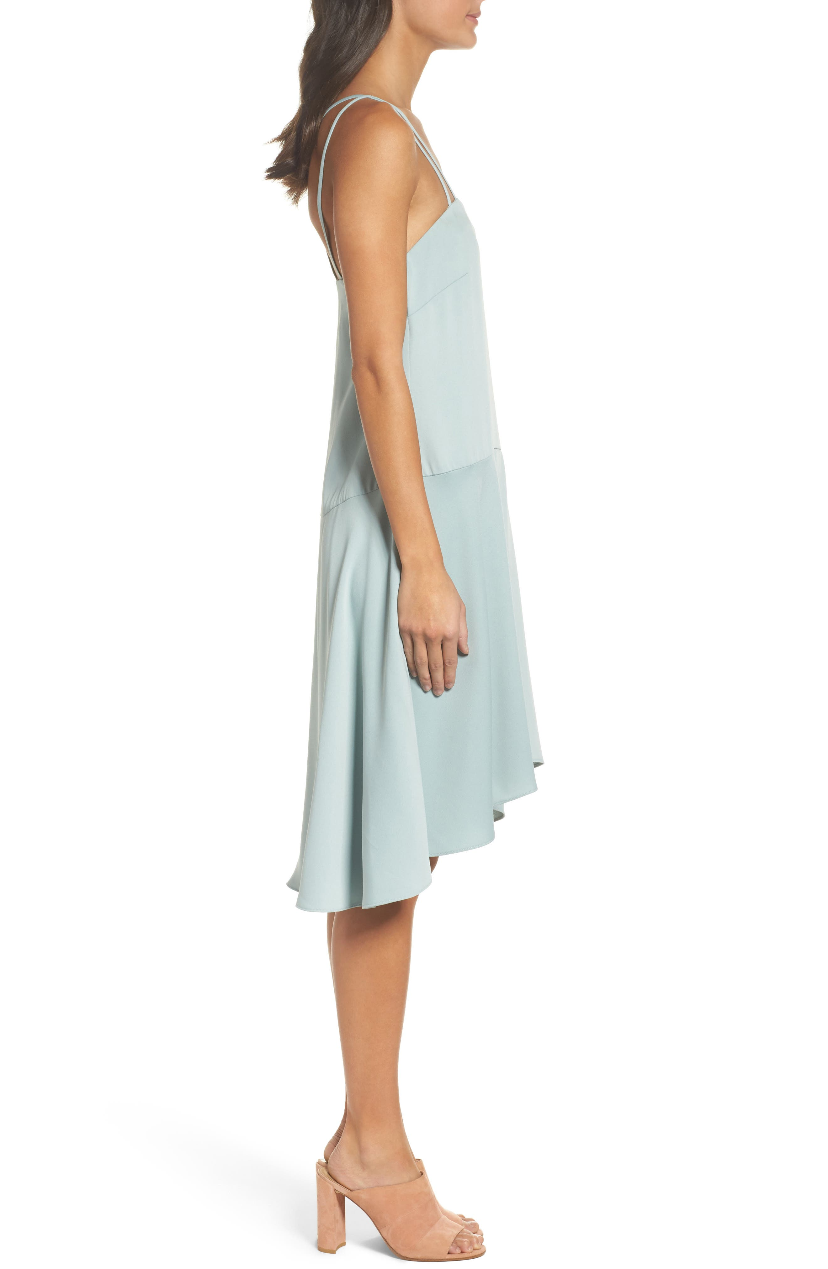 BB DAKOTA OCCASION,                             BB Dakota Bobbie High/Low Dress,                             Alternate thumbnail 3, color,                             350