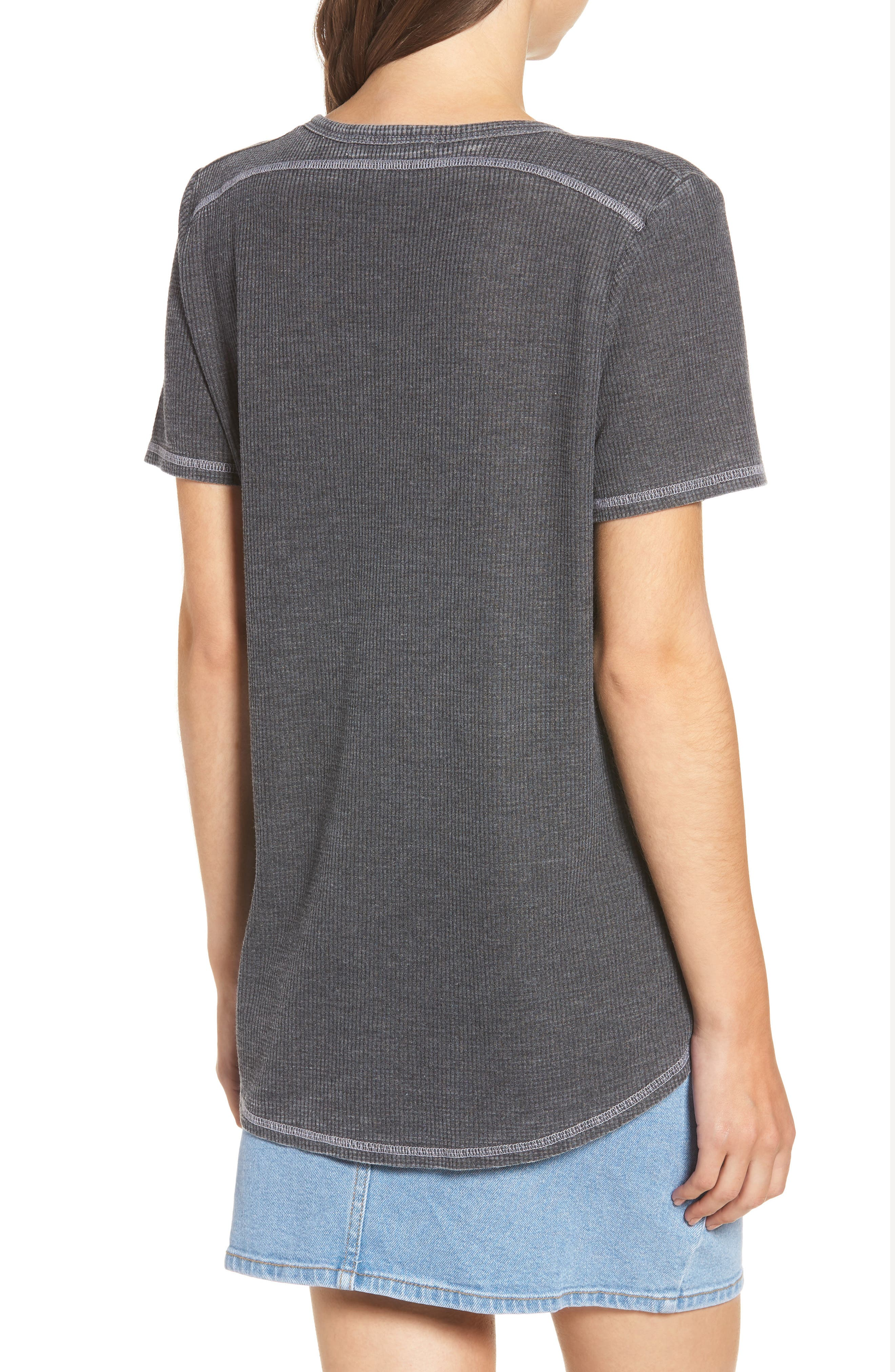 Priestly Thermal Tee,                             Alternate thumbnail 2, color,                             001