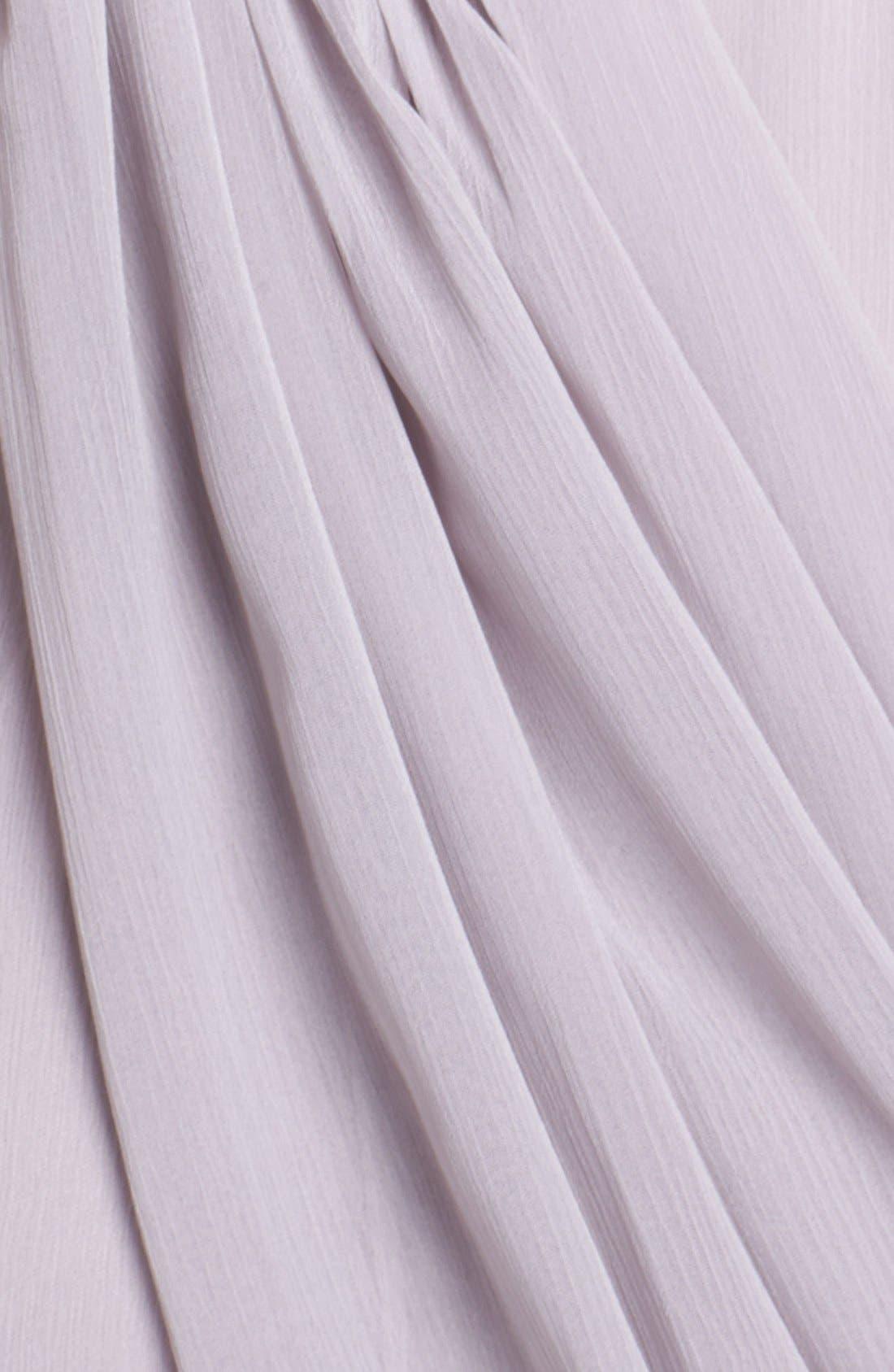 Draped Chiffon Dress,                             Alternate thumbnail 3, color,                             251