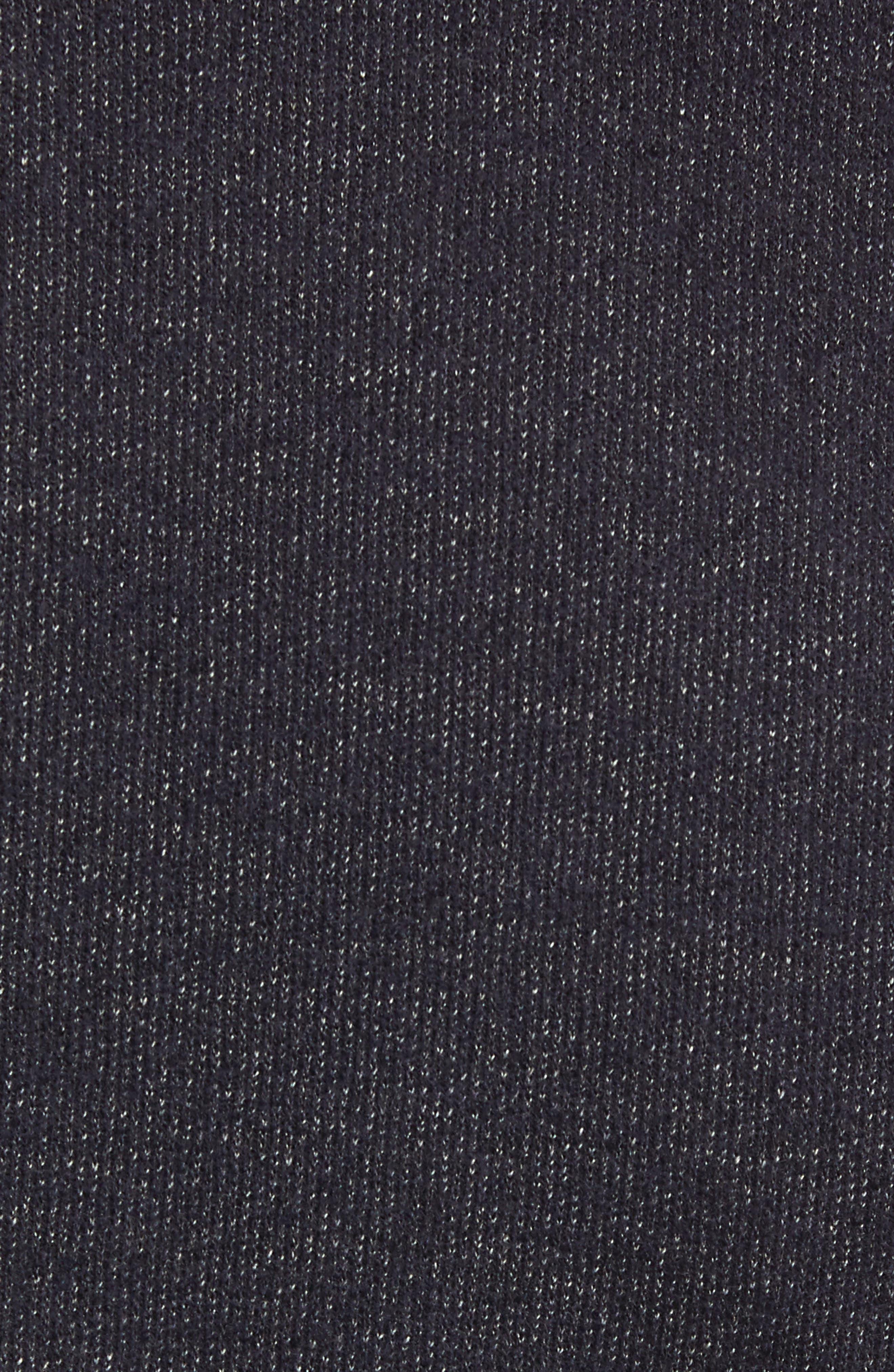 Trim Fit Cotton Blend Blazer,                             Alternate thumbnail 6, color,                             NAVY