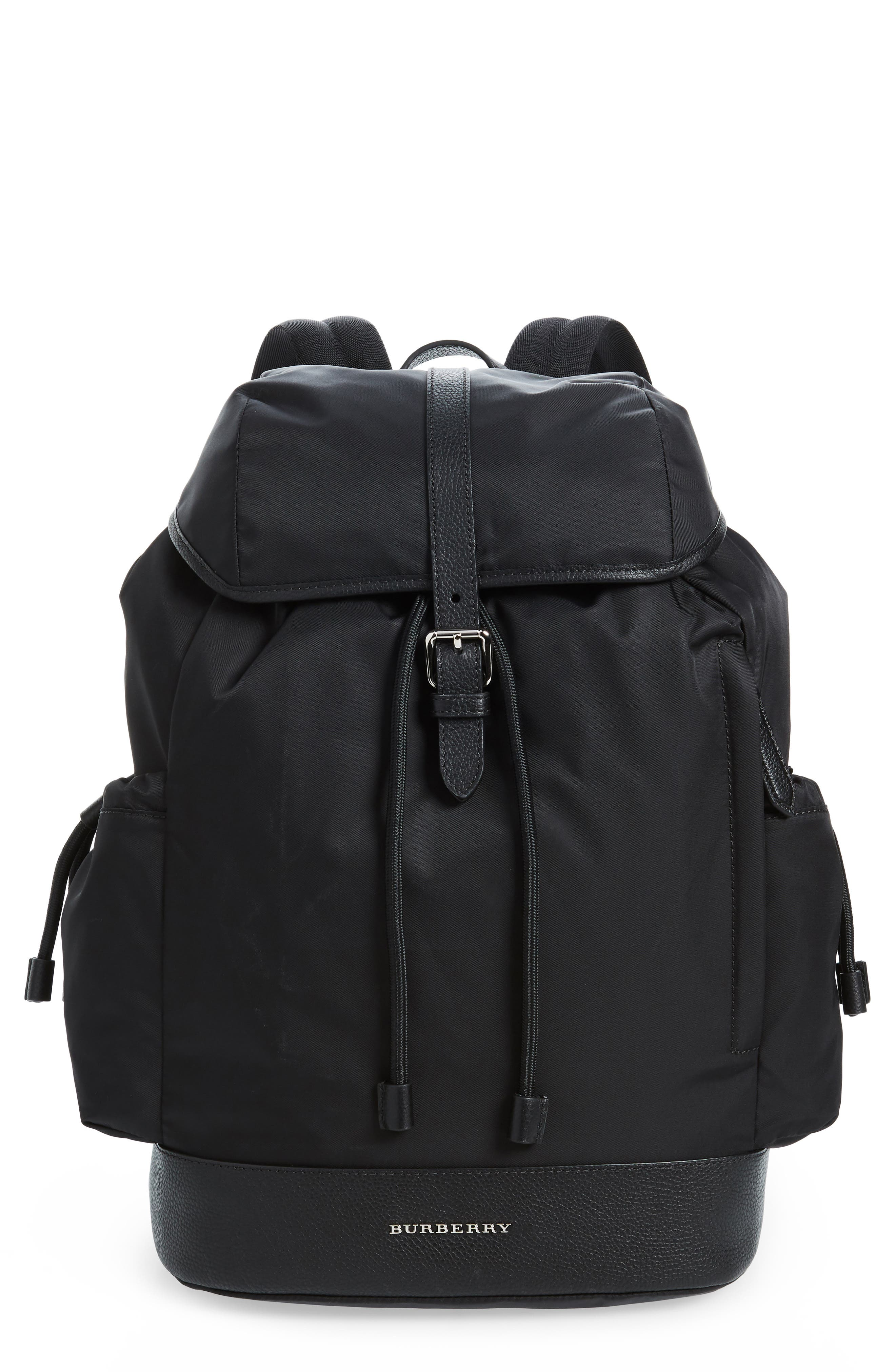 Watson Diaper Backpack,                         Main,                         color, BLACK