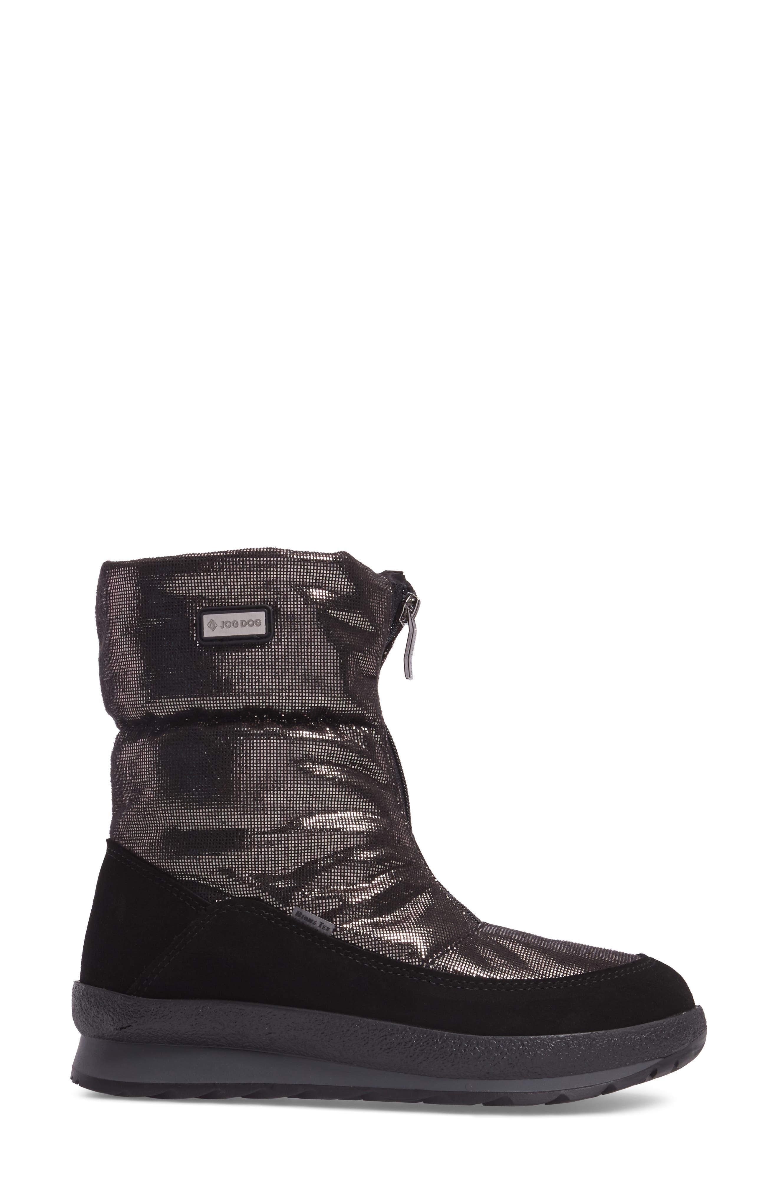 Val Gardena Waterproof Boot,                             Alternate thumbnail 3, color,                             004