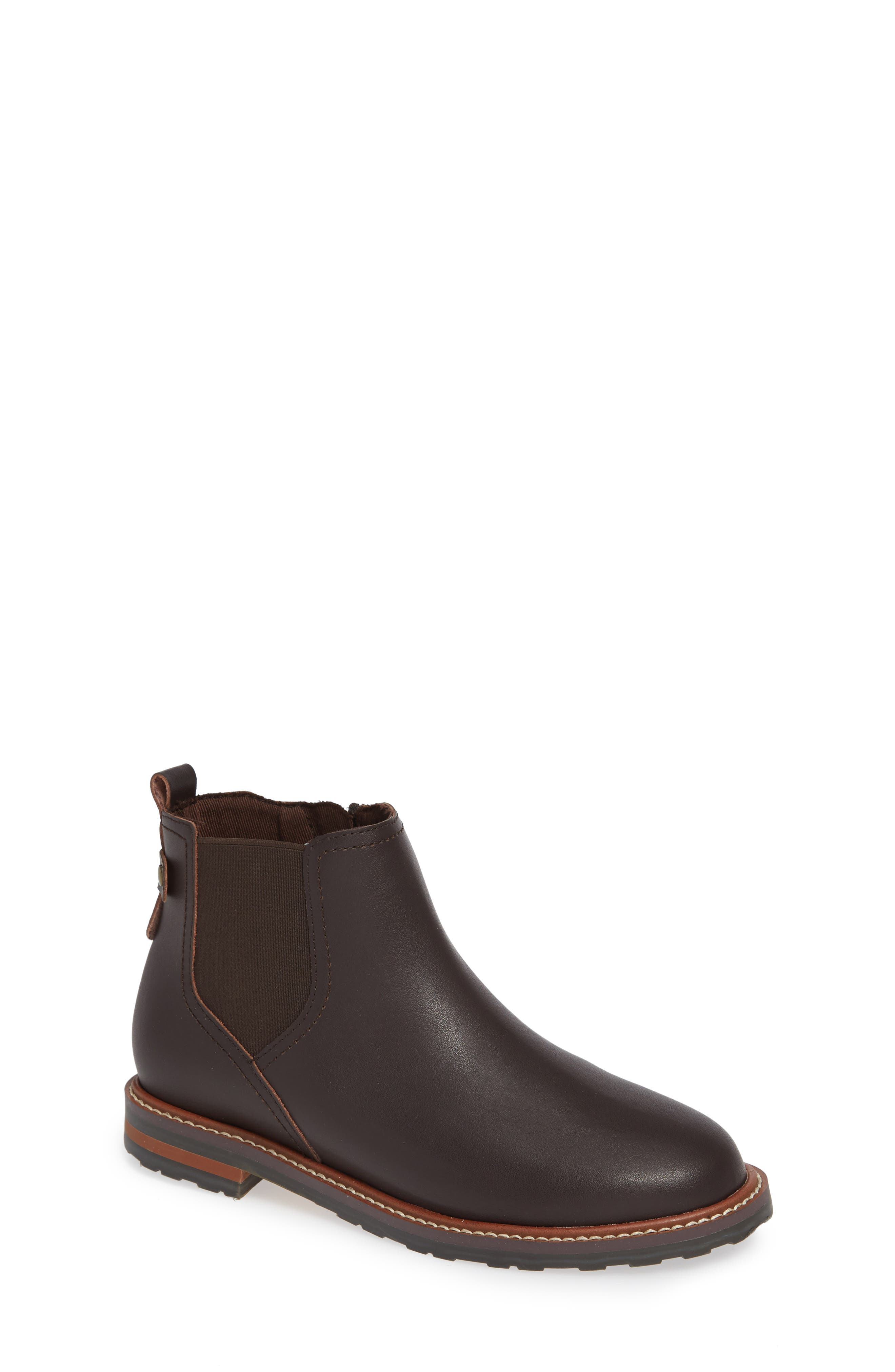 Chelsea Boot,                             Main thumbnail 1, color,                             CHOCOLATE OILED LEATHER