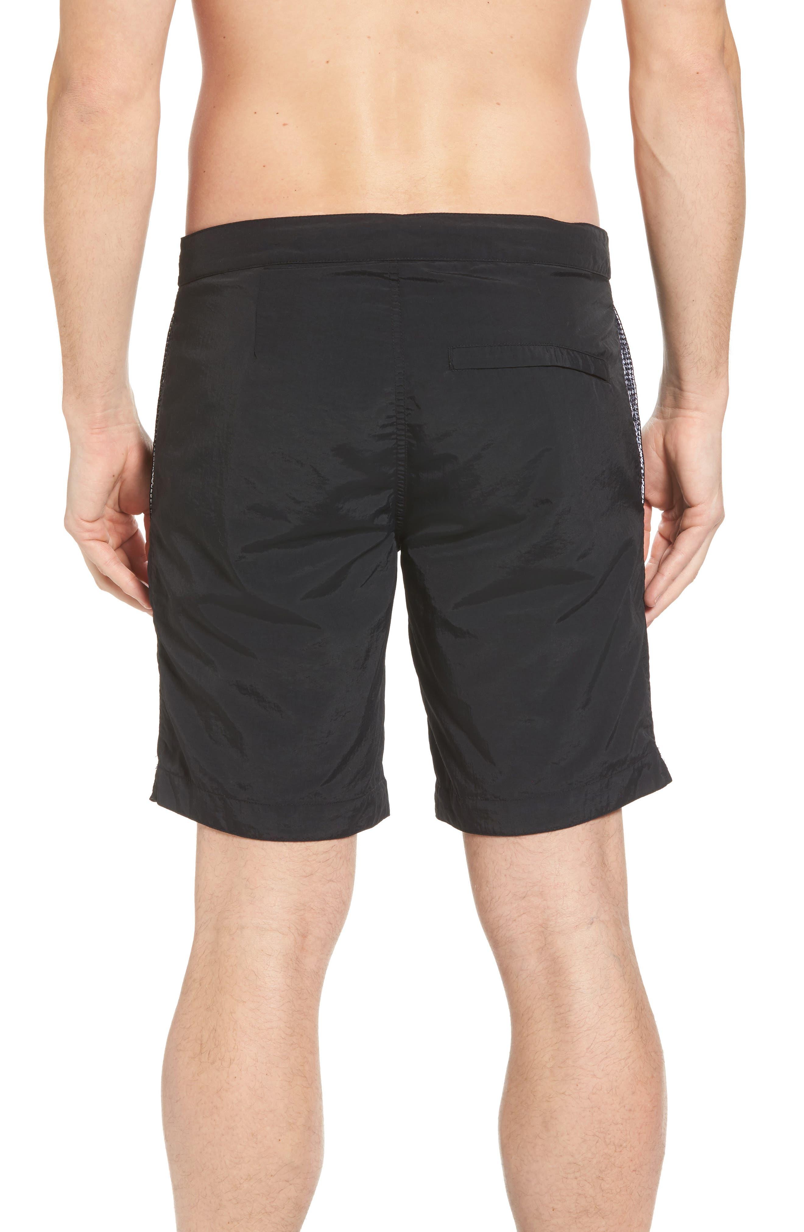 'Aruba - Island' Tailored Fit 8.5 Inch Board Shorts,                             Alternate thumbnail 2, color,                             001