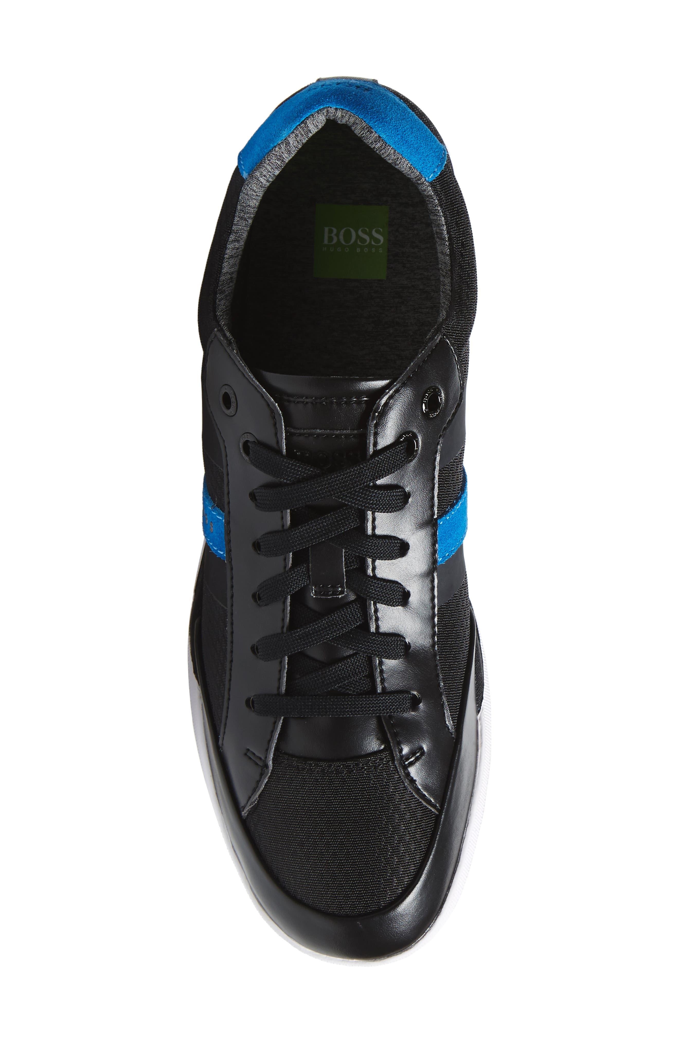 Shuttle Sneaker,                             Alternate thumbnail 5, color,                             BLACK