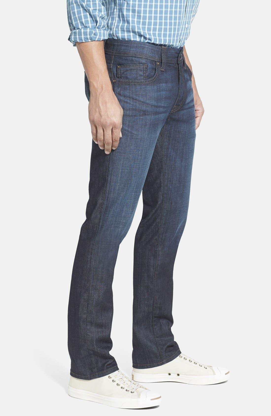 'Jimmy' Slim Straight Leg Jeans,                             Alternate thumbnail 4, color,                             400