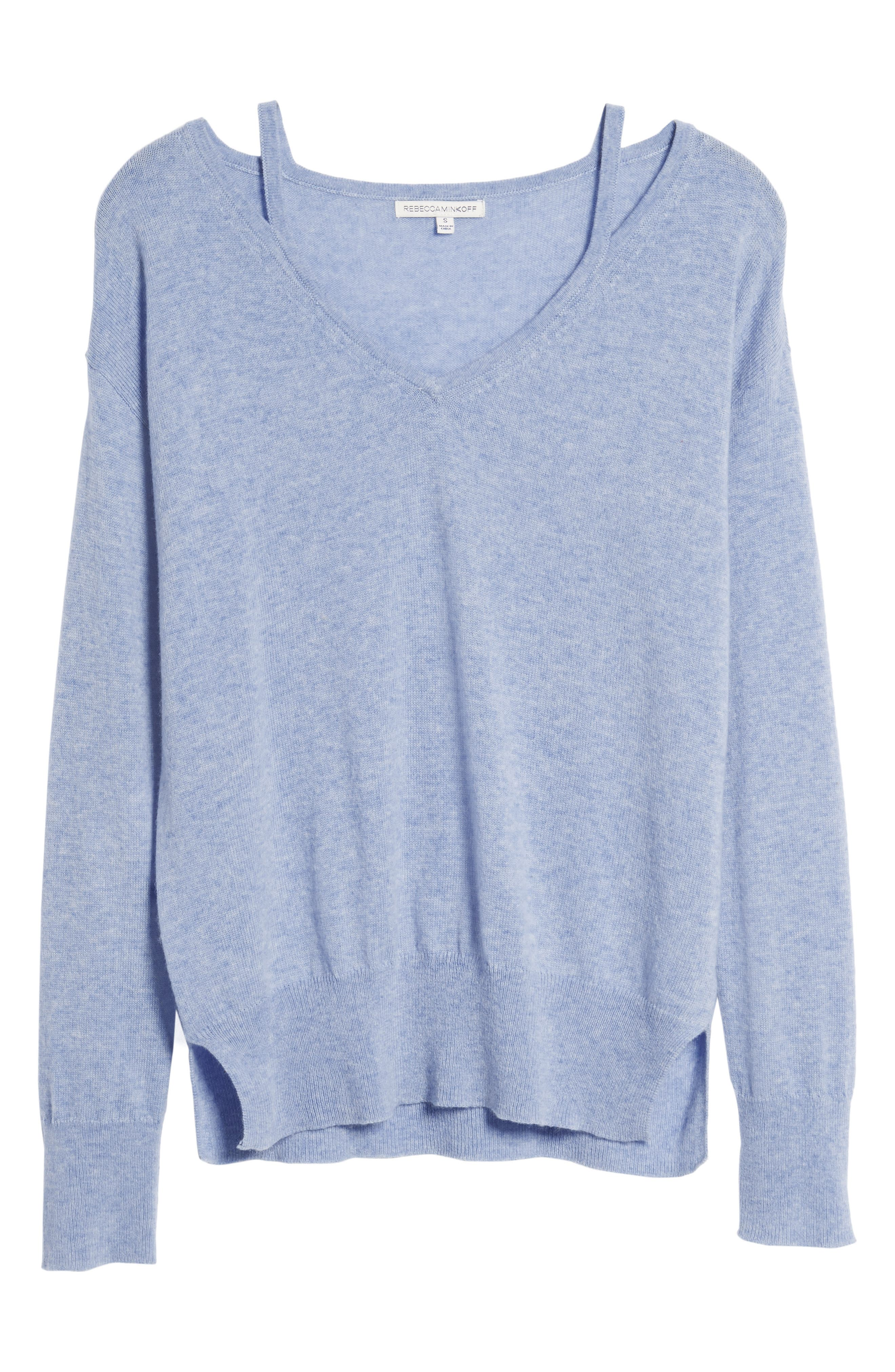 Kenley Wool & Cashmere Sweater,                             Alternate thumbnail 6, color,                             400