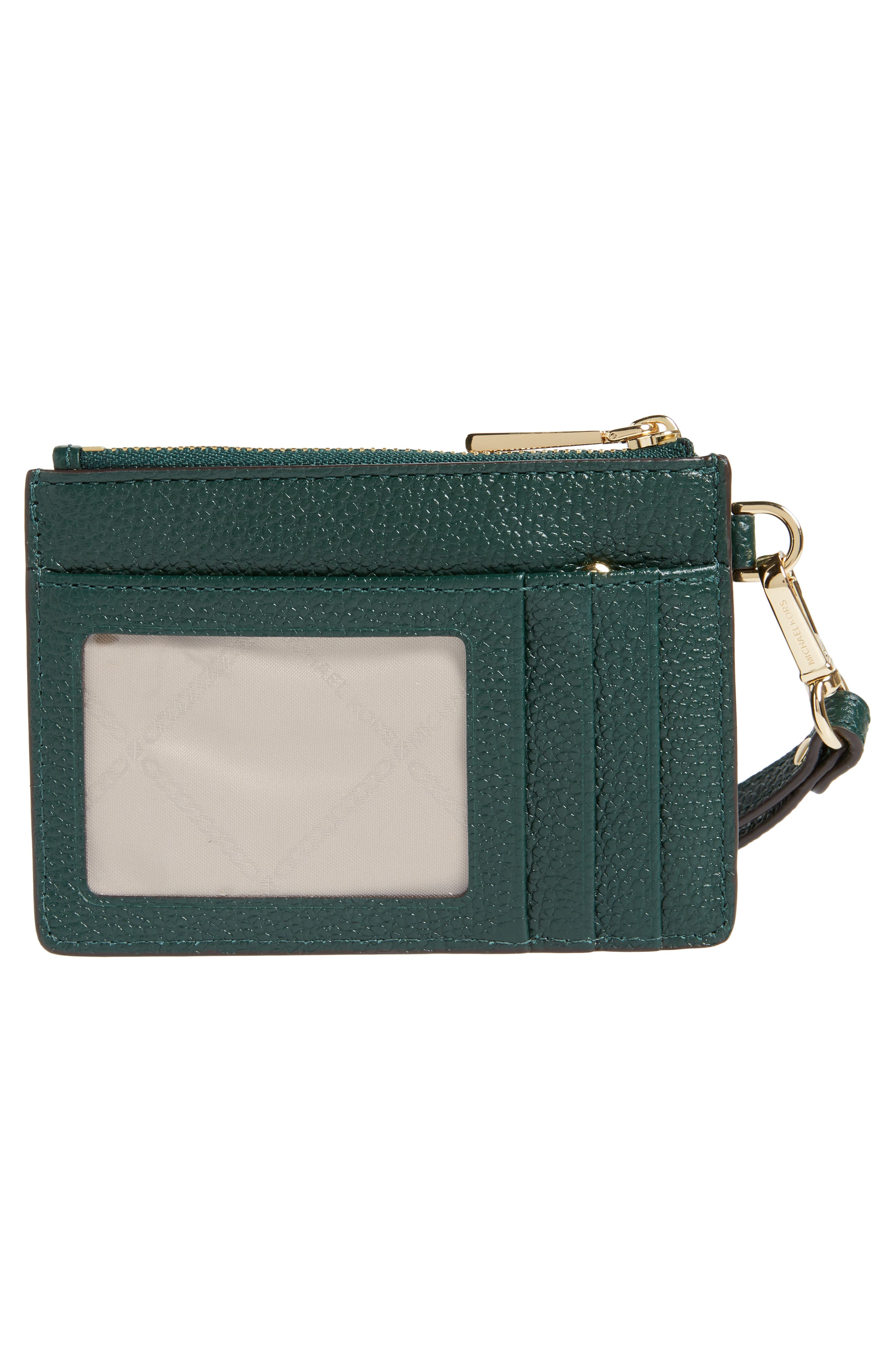 Small Mercer Leather RFID Coin Purse,                             Alternate thumbnail 3, color,                             300