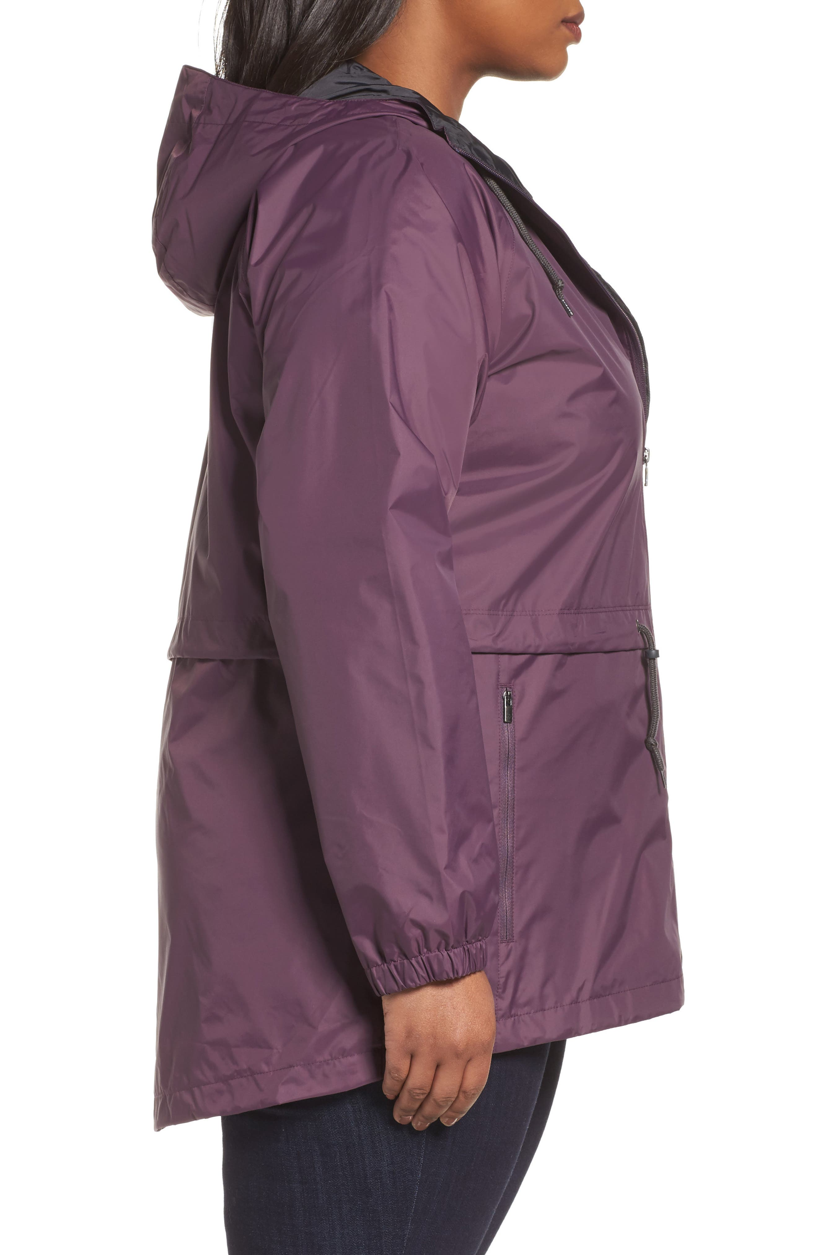 'Arcadia' Hooded Waterproof Casual Jacket,                             Alternate thumbnail 21, color,