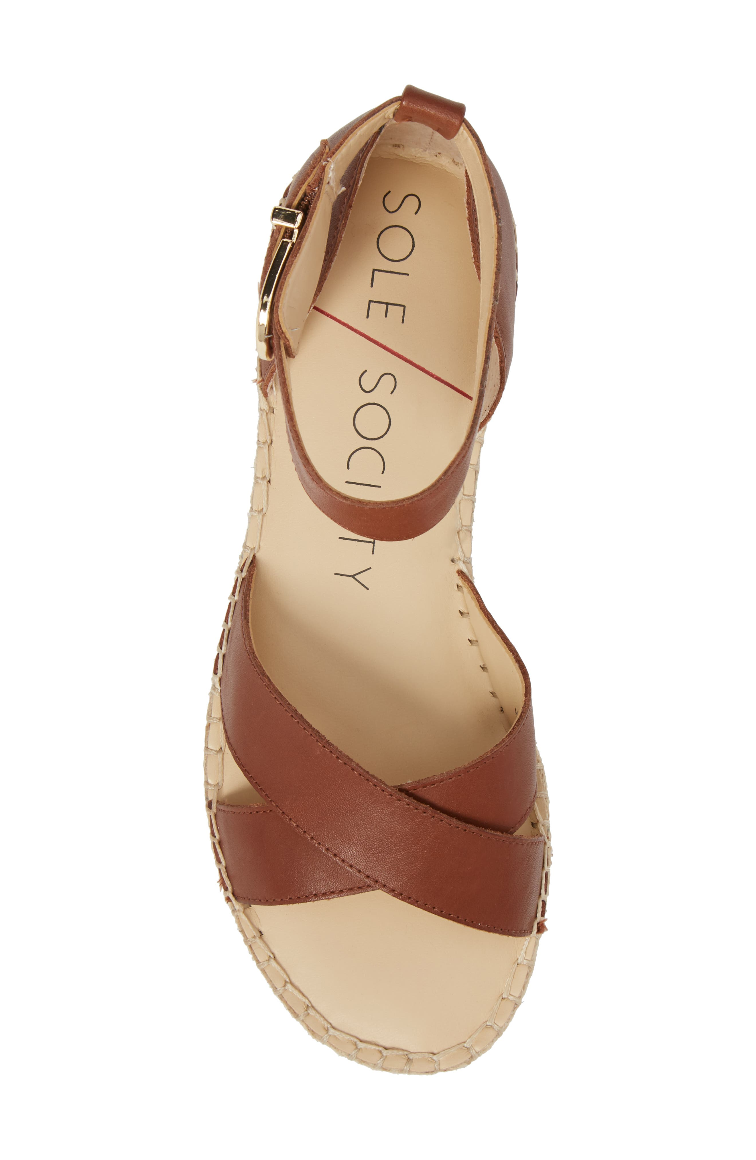 Saundra Espadrille Sandal,                             Alternate thumbnail 19, color,