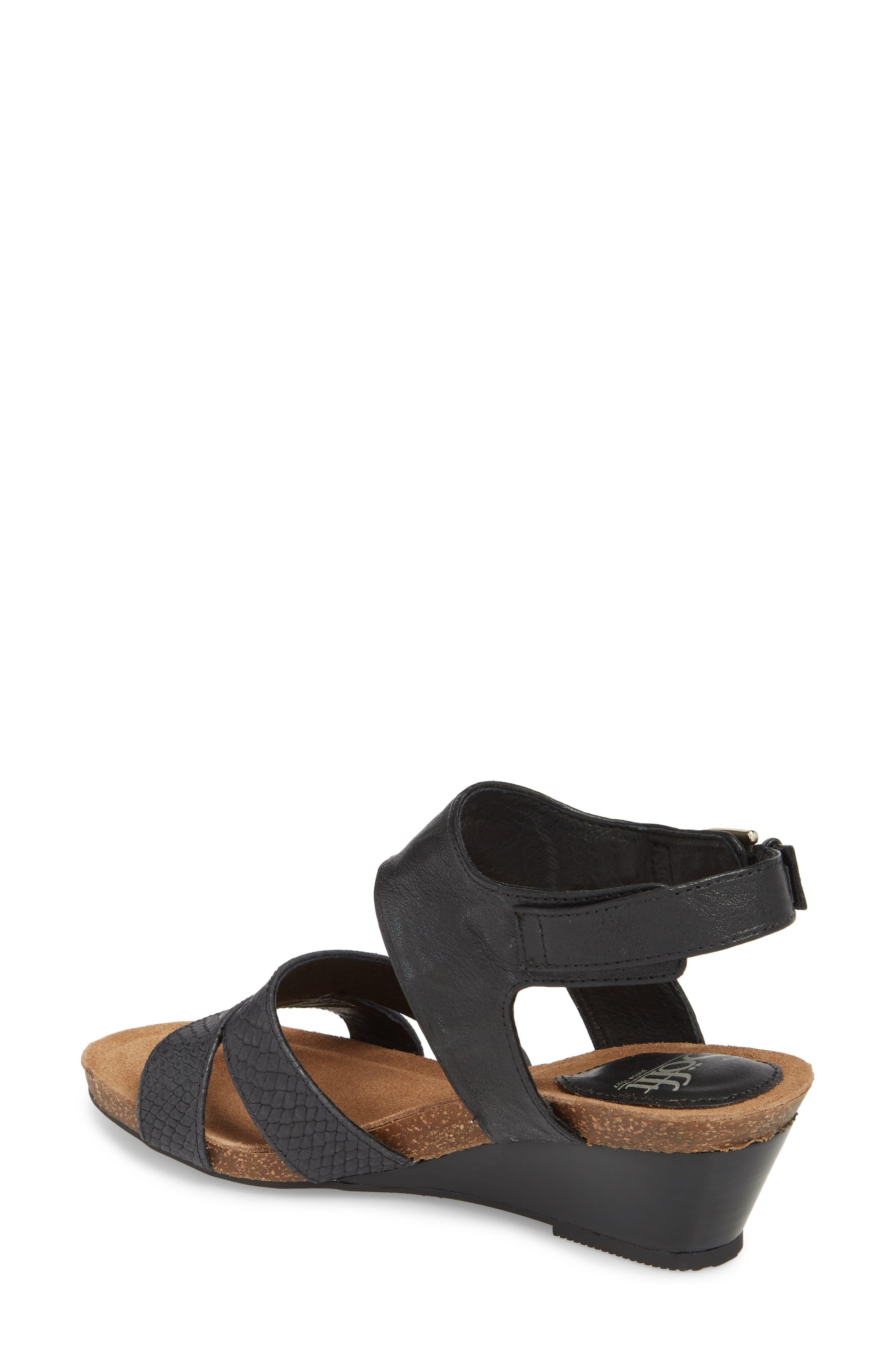Velden Wedge Sandal,                             Alternate thumbnail 2, color,                             001