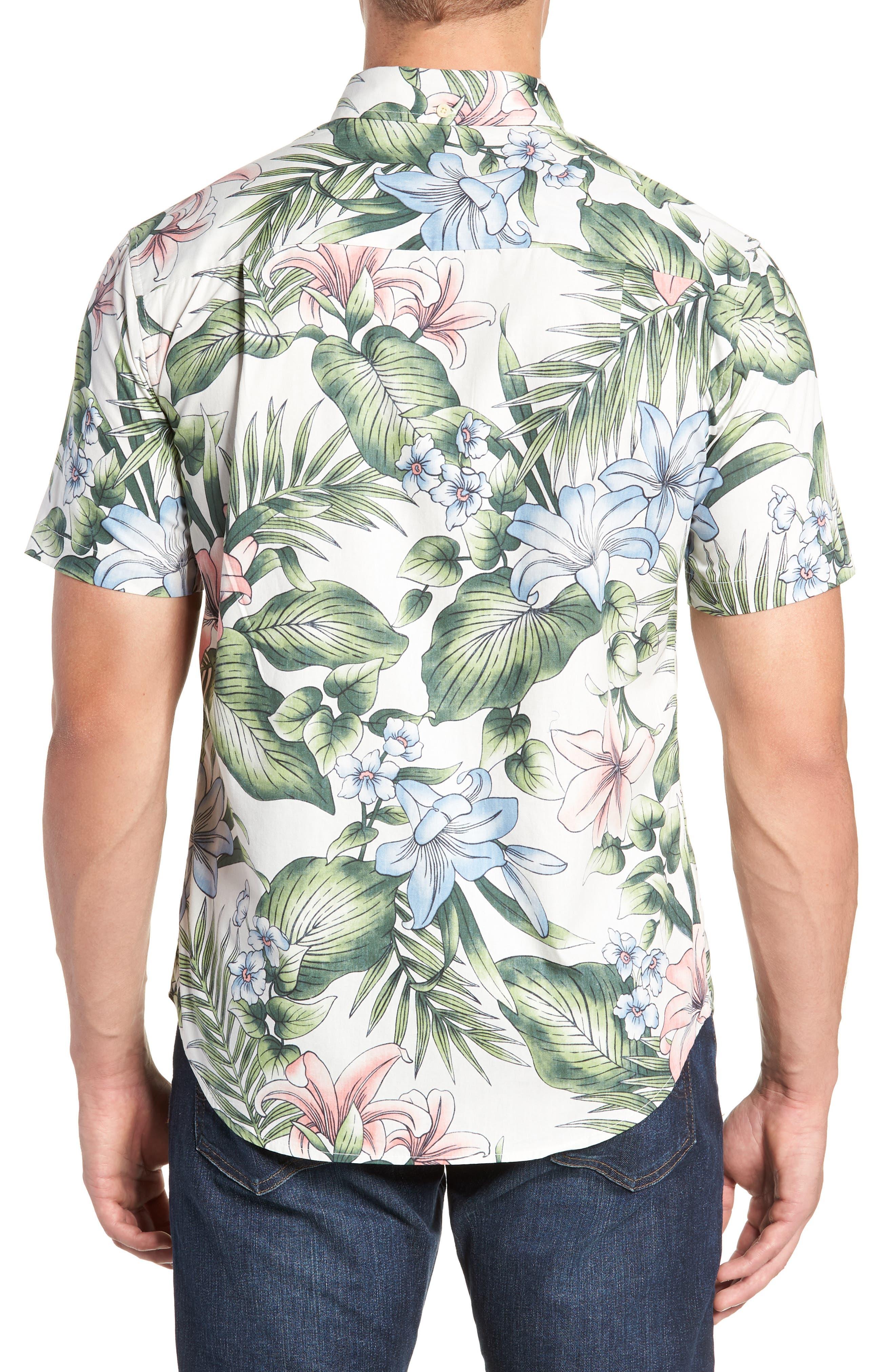 Uluhehi Regular Fit Sport Shirt,                             Alternate thumbnail 3, color,                             104