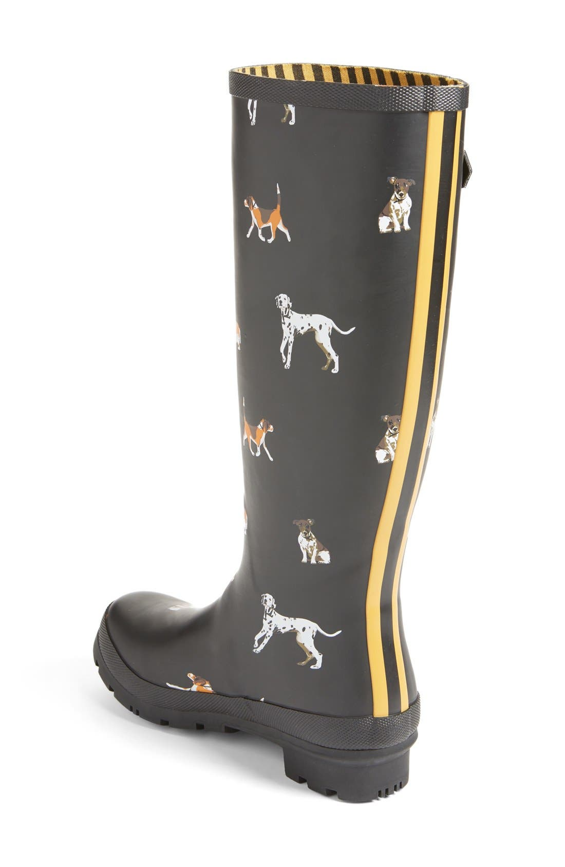 'Welly' Print Rain Boot,                             Alternate thumbnail 48, color,