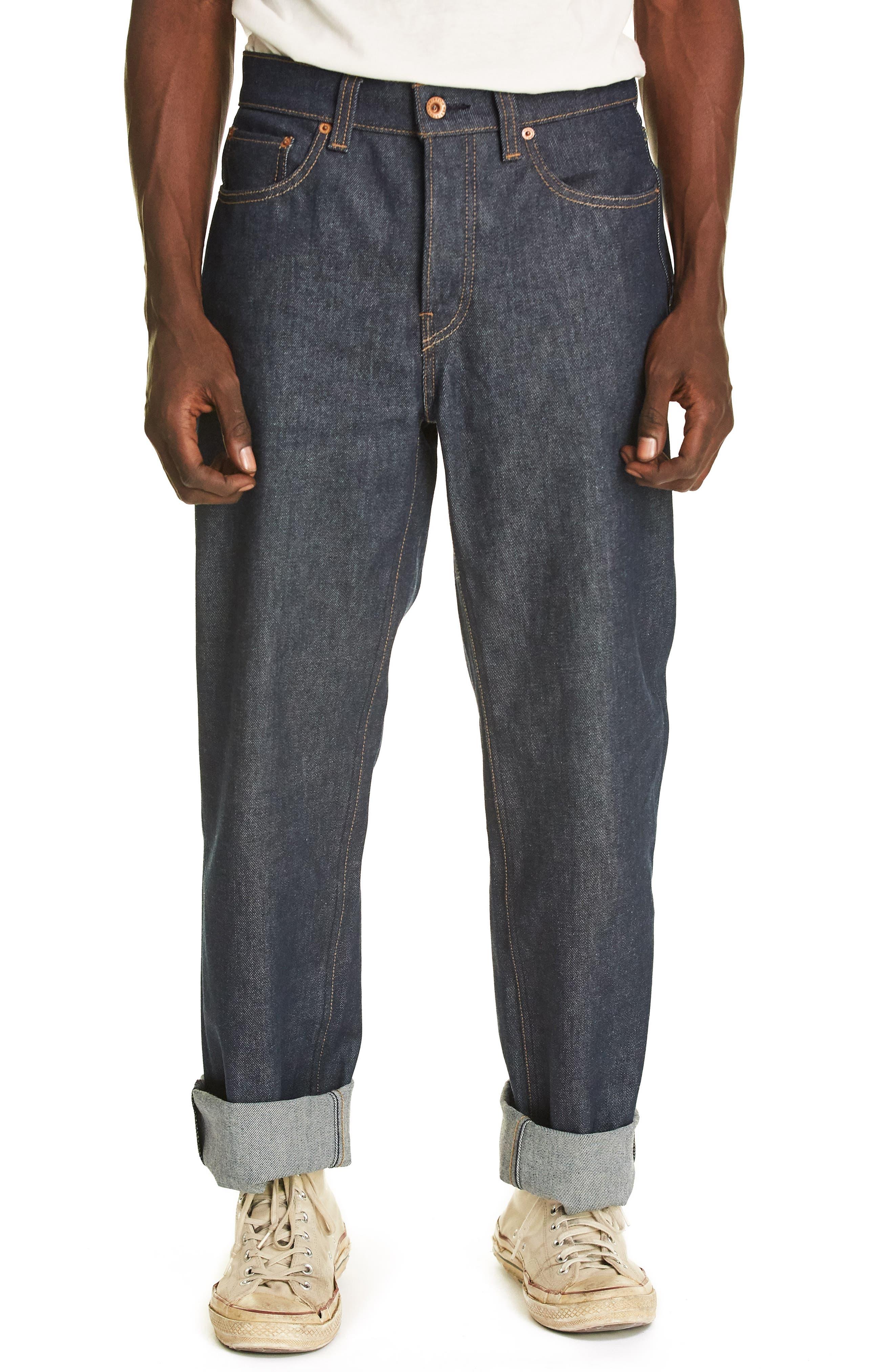 Labor Straight Leg Jeans,                         Main,                         color, 400