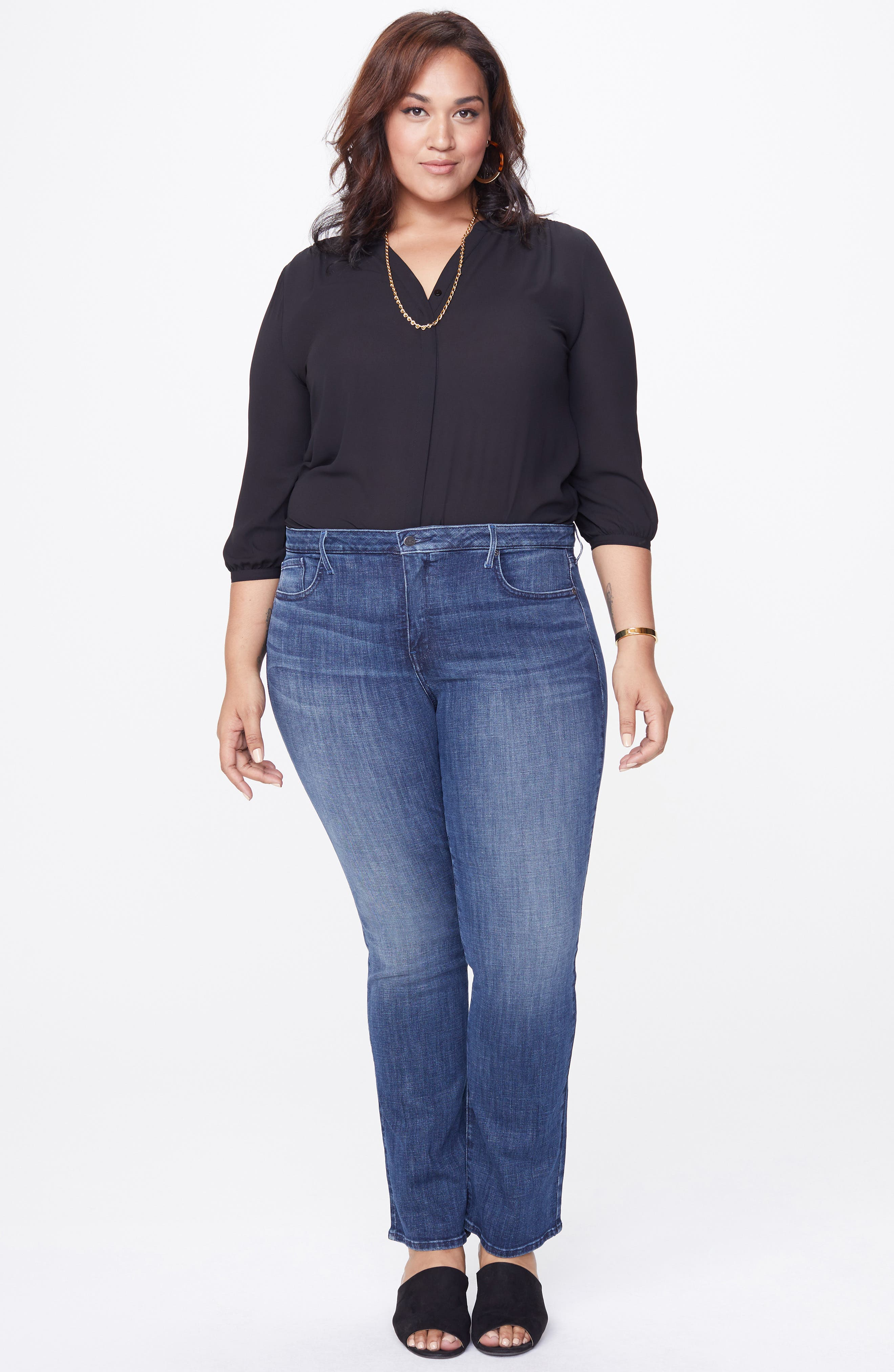 Barbara Bootcut Jeans,                             Alternate thumbnail 7, color,                             LUPINE