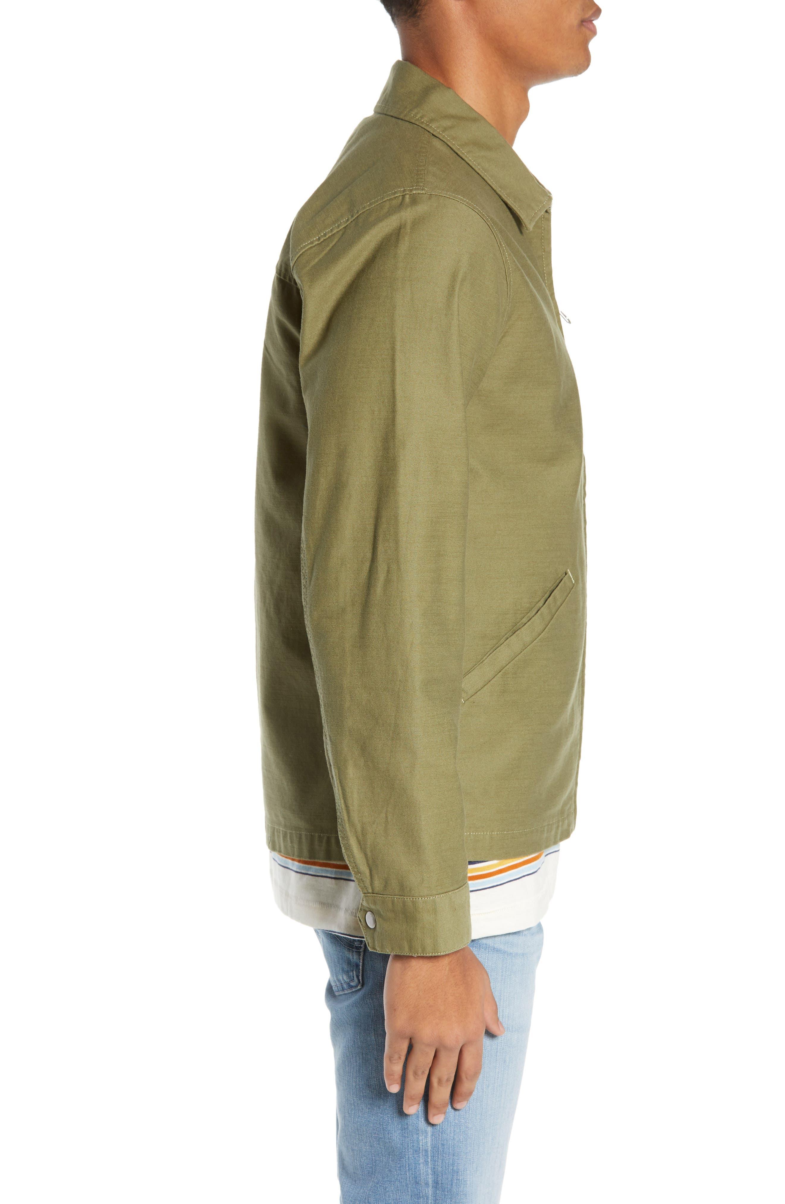 Burkey Jacket,                             Alternate thumbnail 3, color,                             VINE GREEN