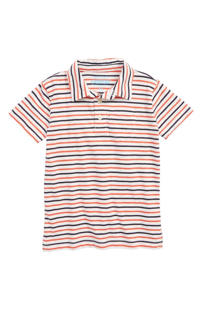 Crewcuts By Jew Stripe Polo Shirt Toddler Boys Little Boys