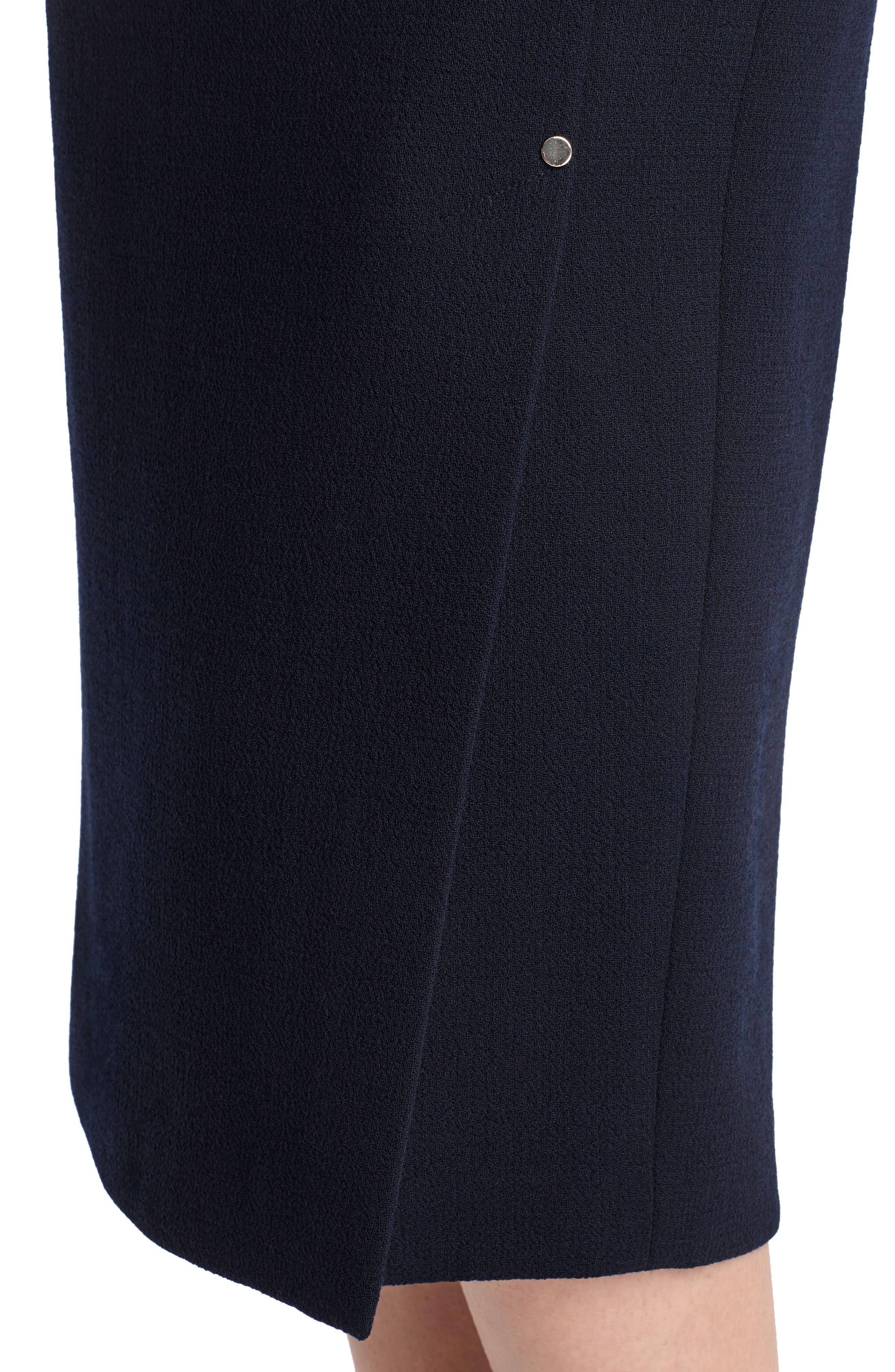 Lucina Nouveau Crepe Skirt,                             Alternate thumbnail 4, color,                             479