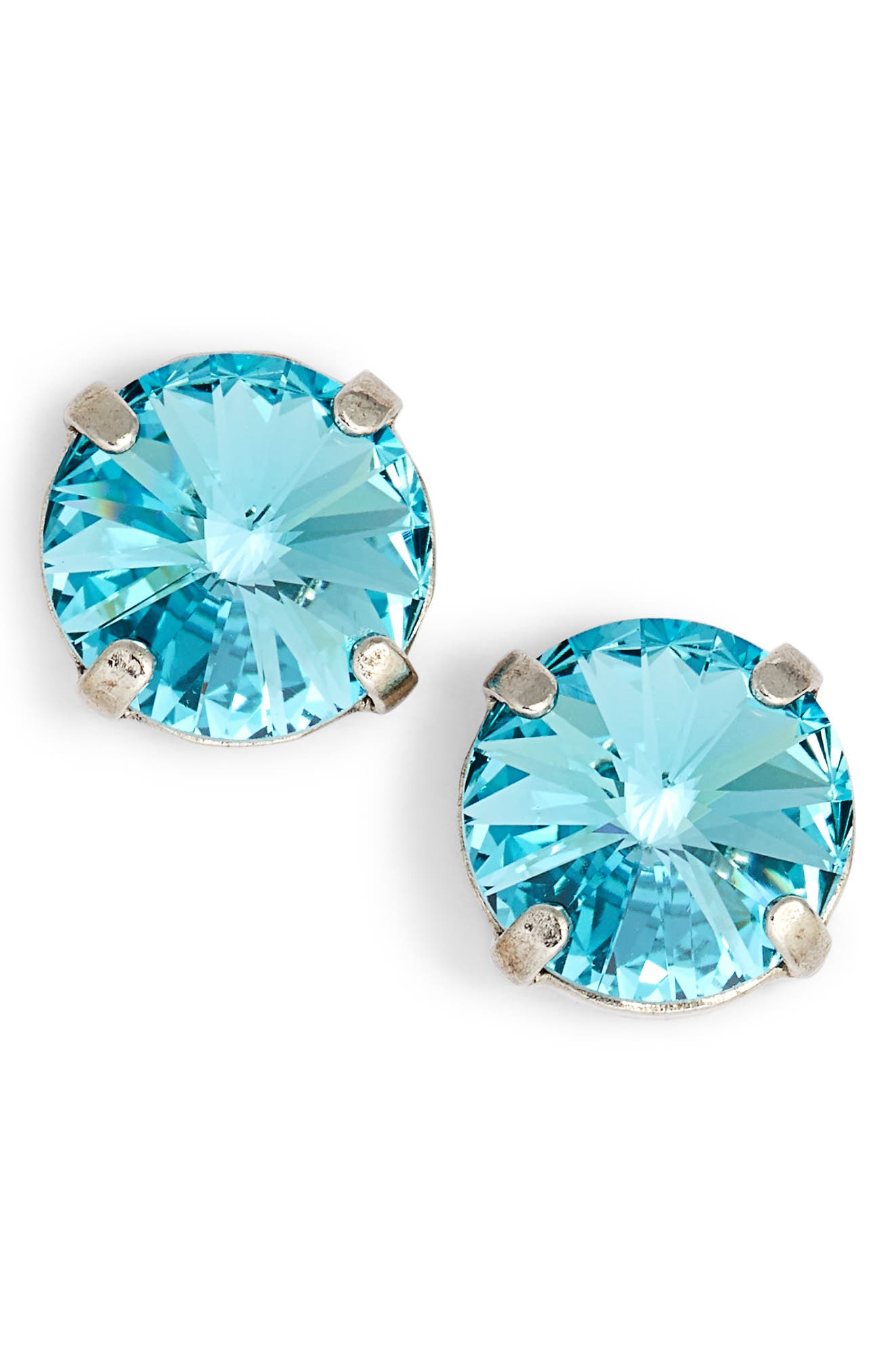 Radiant Rivoli Earrings,                             Main thumbnail 1, color,                             400