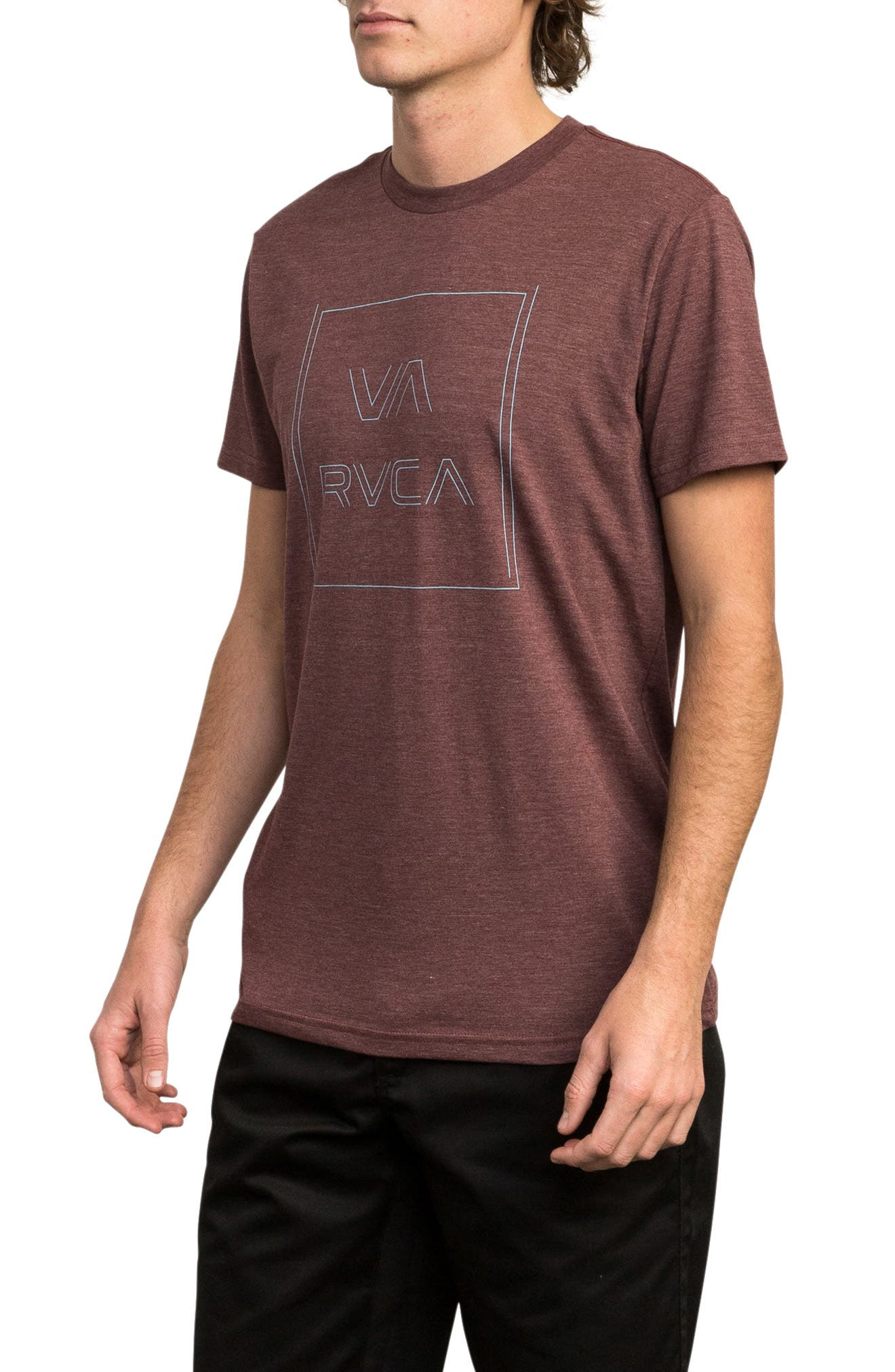 Pinner All the Way Graphic T-Shirt,                             Alternate thumbnail 3, color,                             BORDEAUX